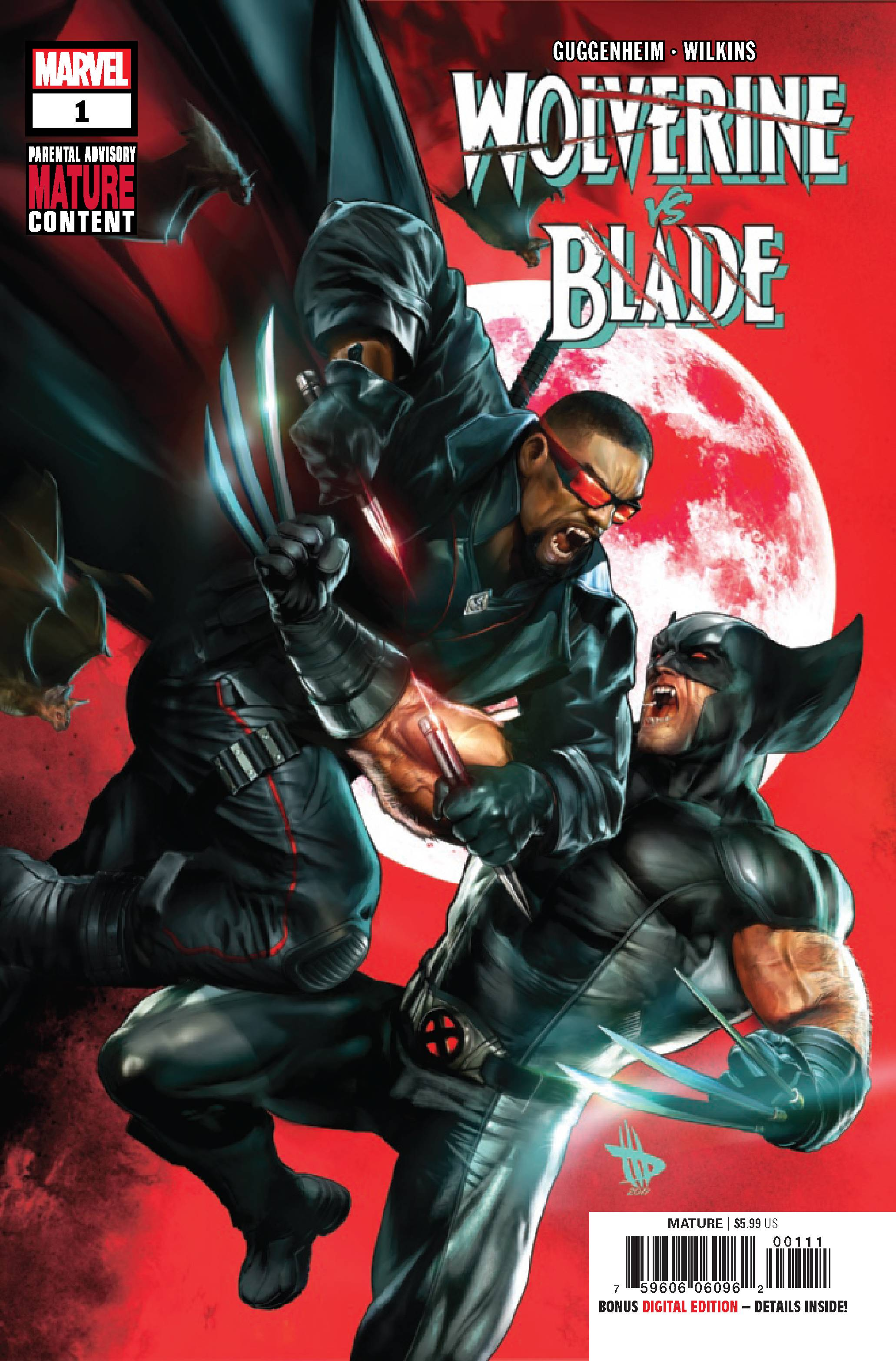 WOLVERINE VS BLADE SPECIAL #1 (MR)