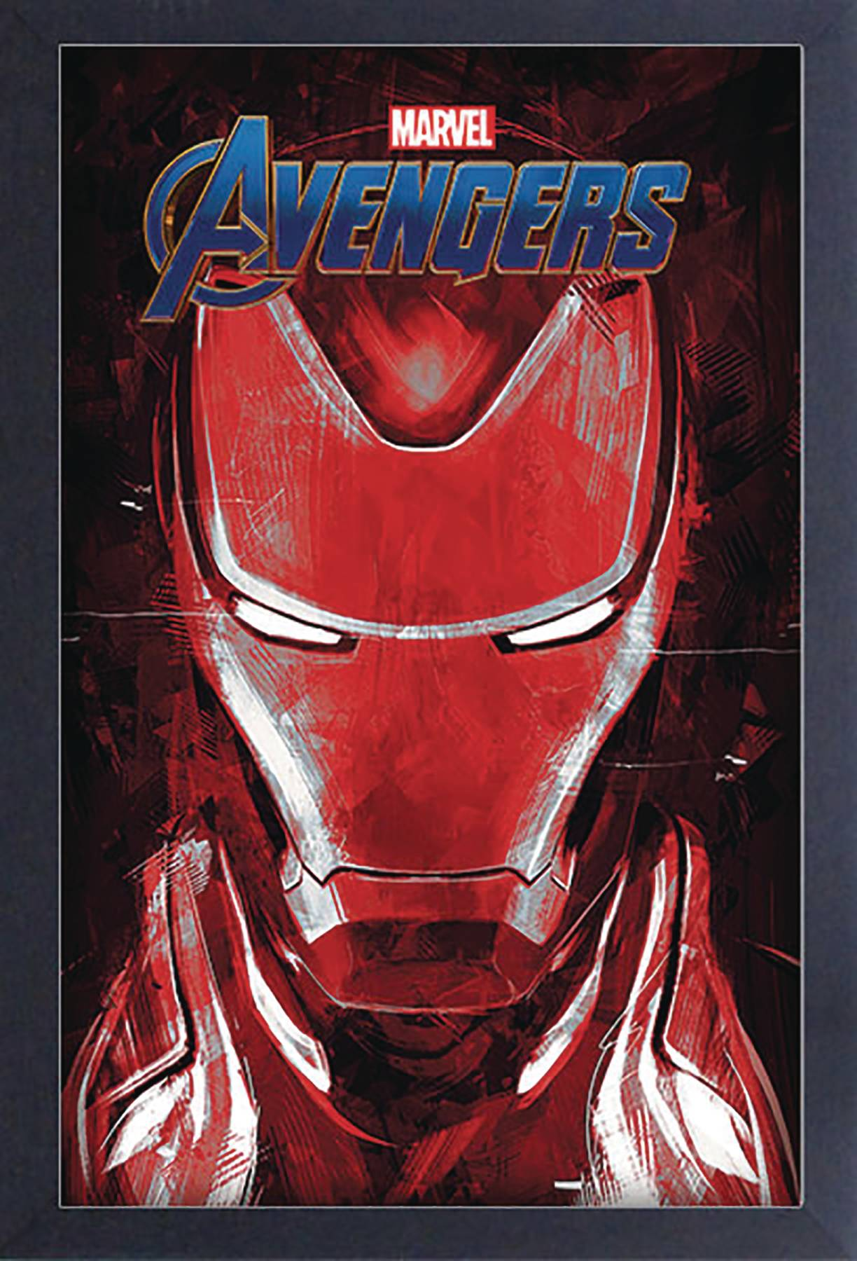 AVENGERS ENDGAME IRON MAN 11X17 FRAMED GEL COAT PRINT