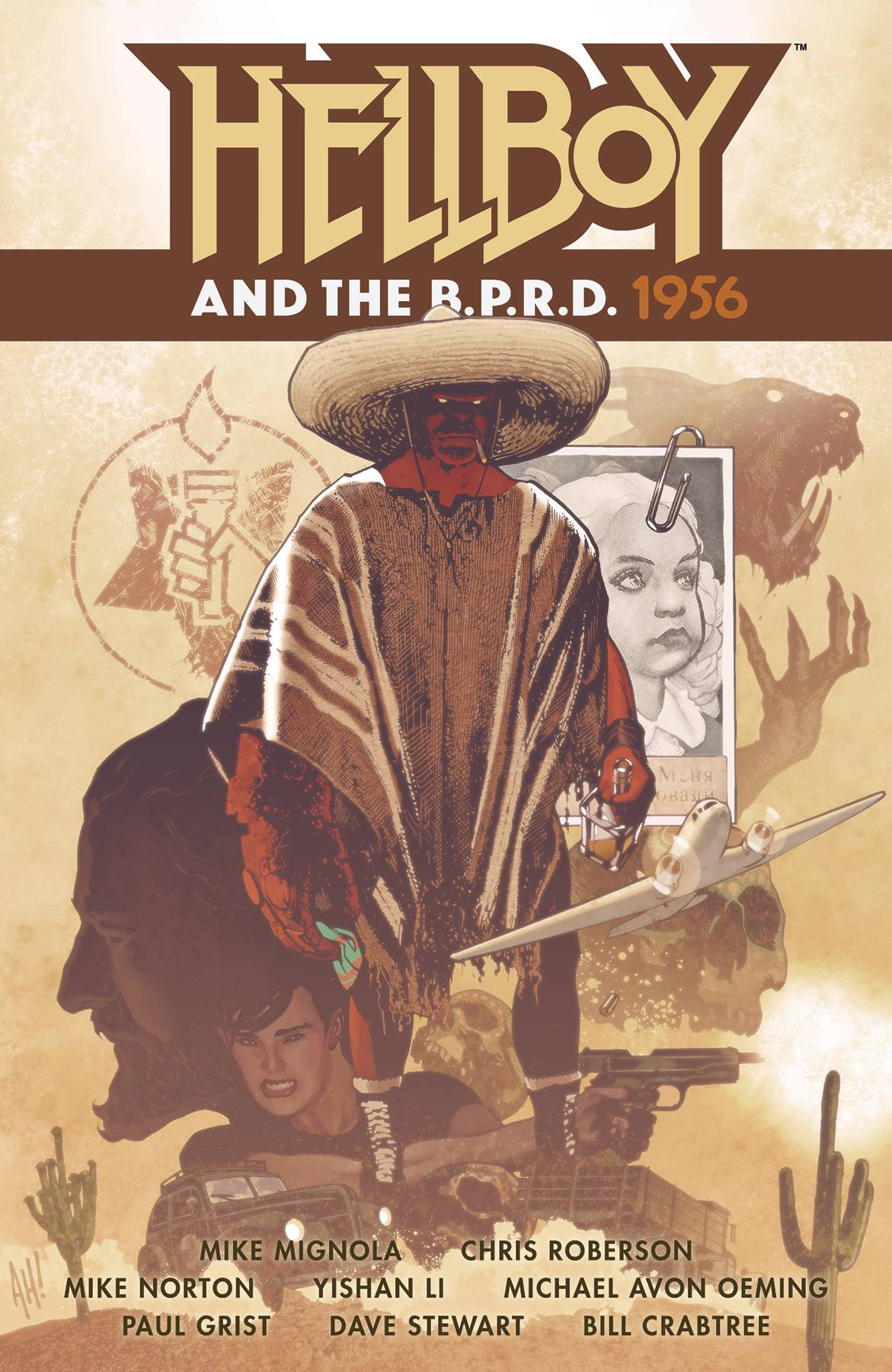 HELLBOY AND BPRD 1956 TP