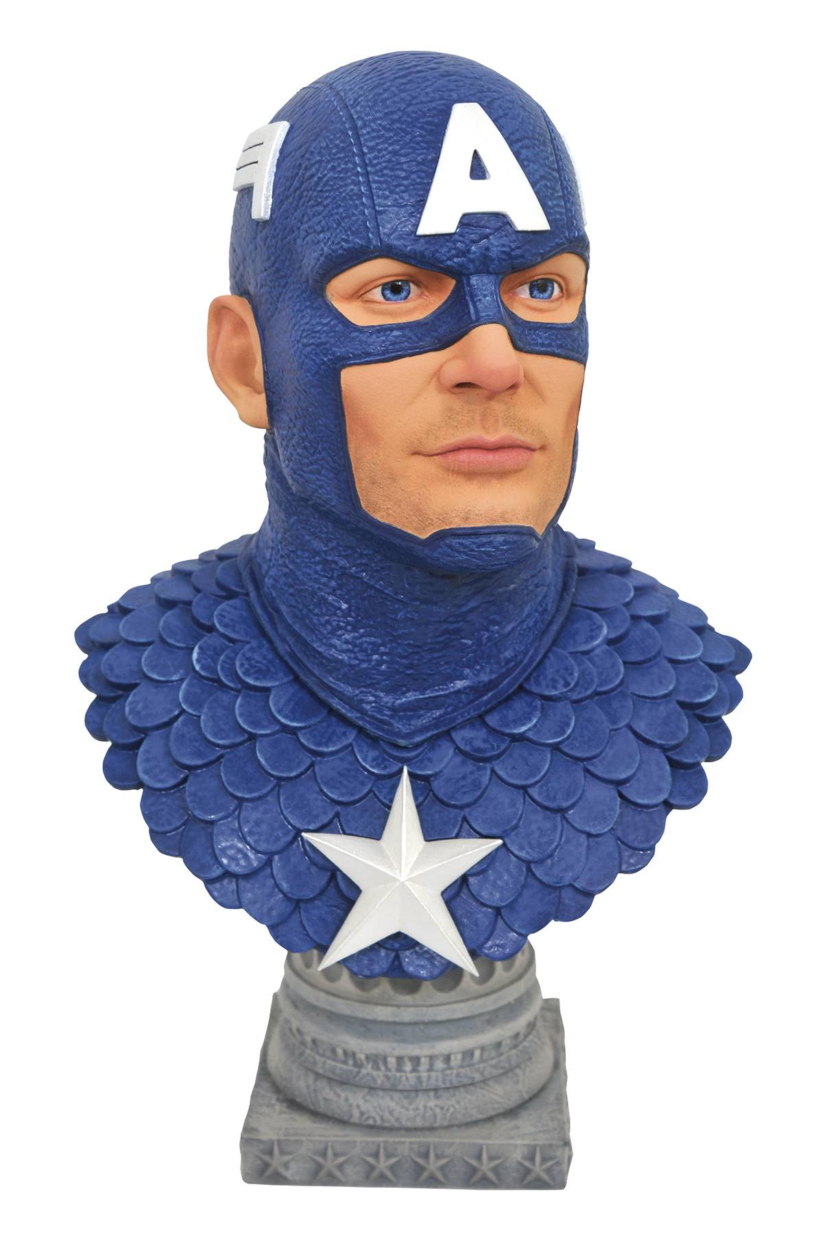 LEGENDS IN 3D MARVEL COMIC CAPTAIN AMERICA 1/2 SCALE BUST (C