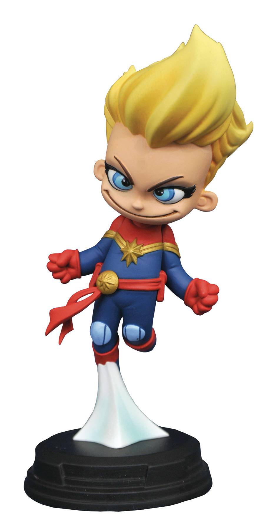 MARVEL ANIMATED CAPTAIN MARVEL STATUE