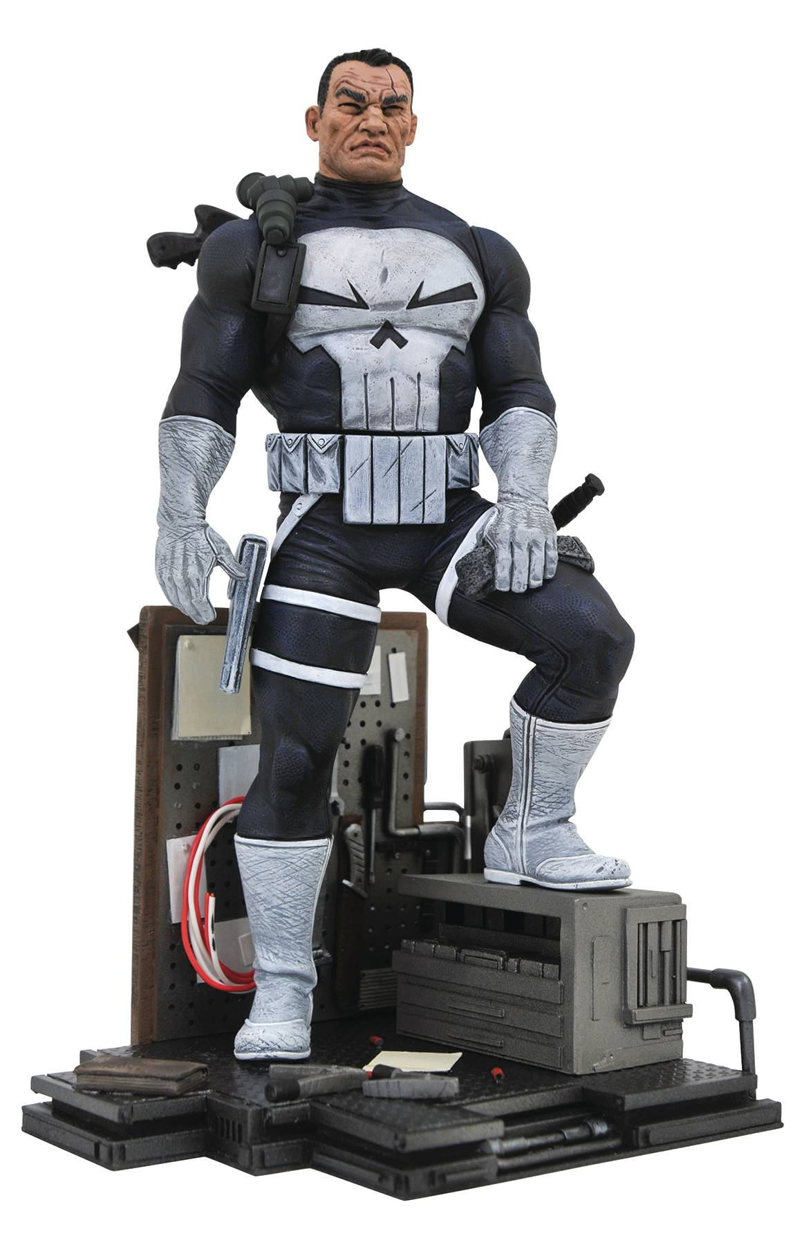 MARVEL GALLERY PUNISHER COMIC PVC FIG