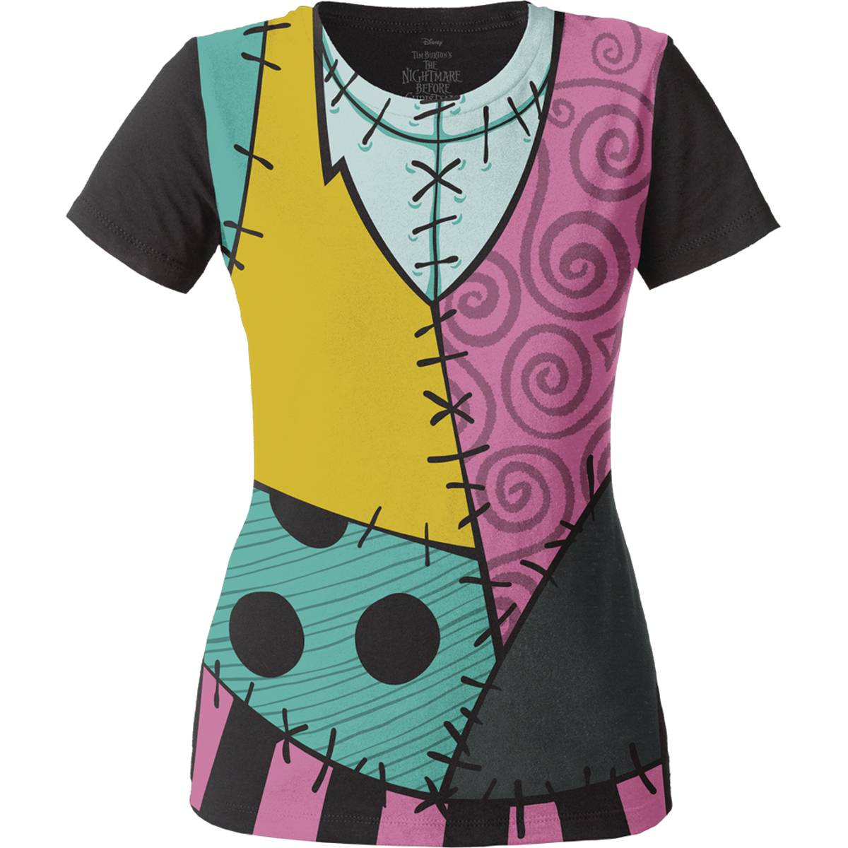 NIGHTMARE BEFORE CHRISTMAS SALLY CHARACTER T/S LG