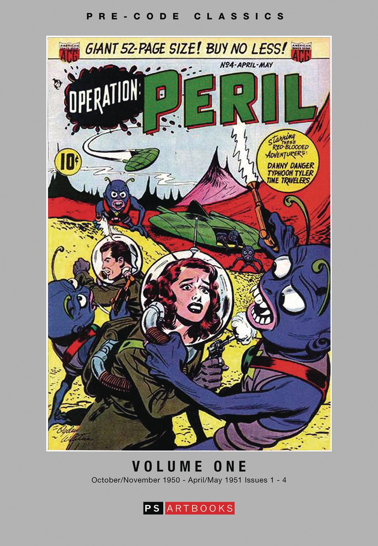PRE CODE CLASSICS OPERATION PERIL HC VOL 01
