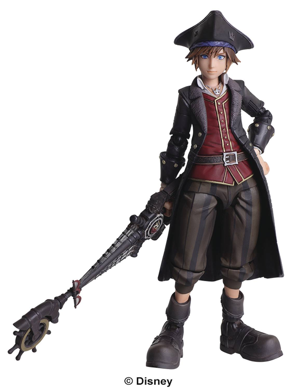 KINGDOM HEARTS III BRING ARTS SORA AF PIRATE VER