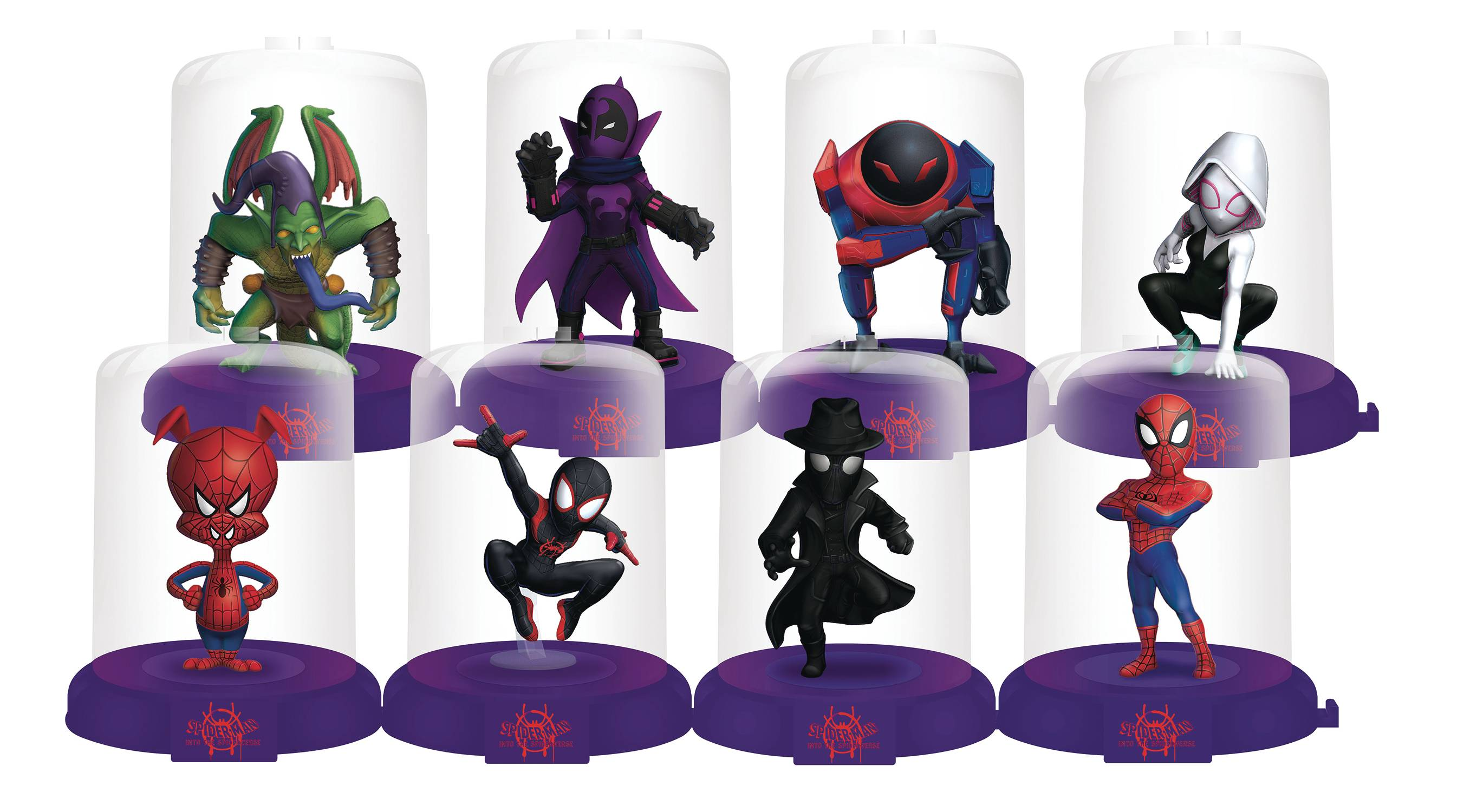 SPIDER-MAN INTO THE SPIDER-VERSE DOMEZ 24PC BMB DS