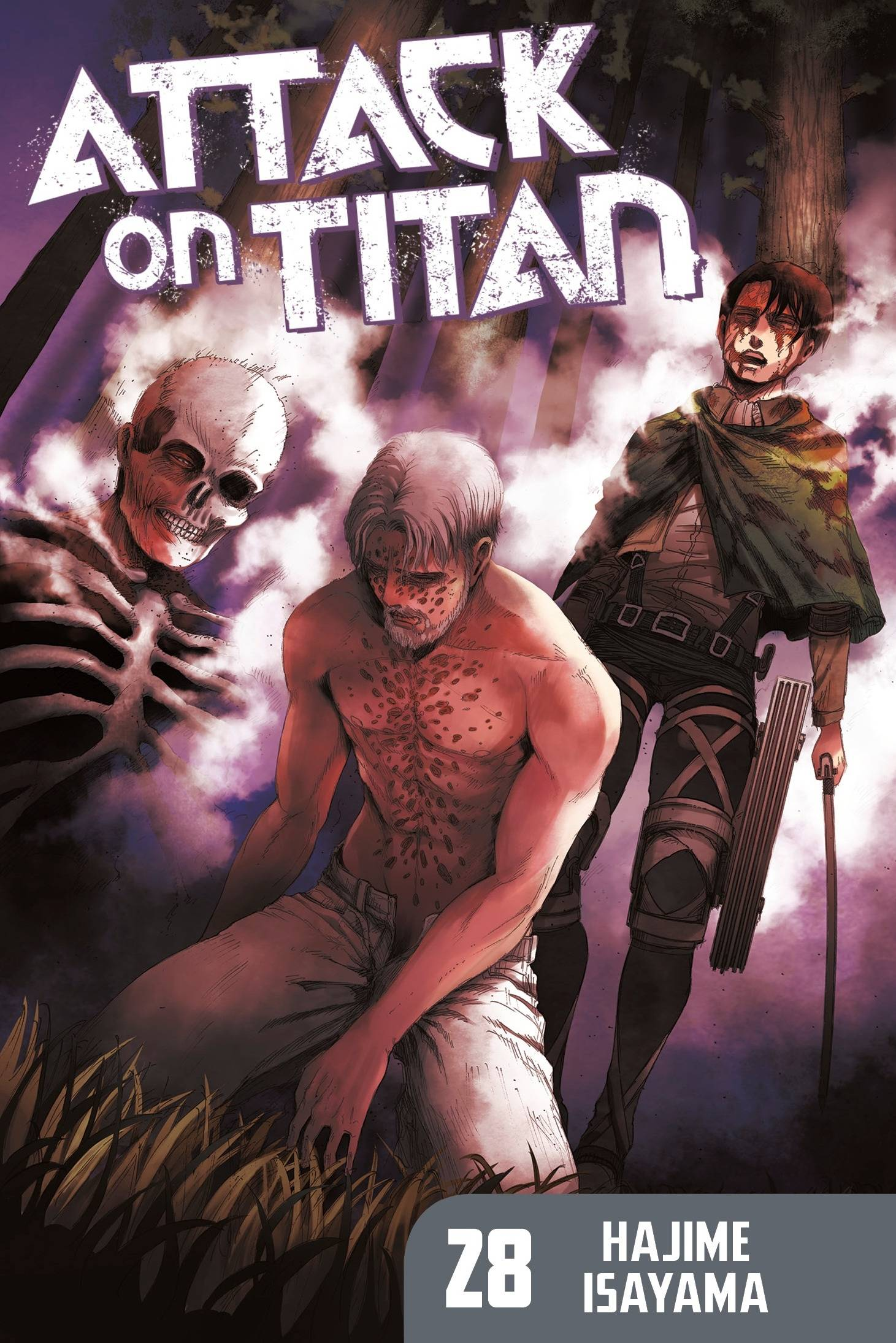 ATTACK ON TITAN GN VOL 28 (MR)