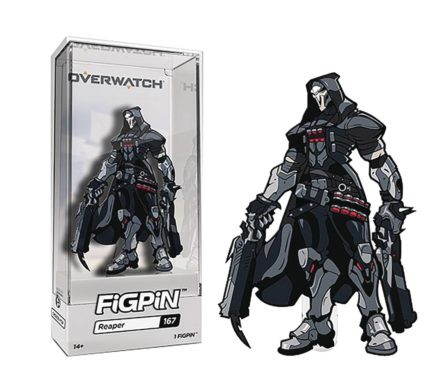 FIGPIN OVERWATCH REAPER PIN