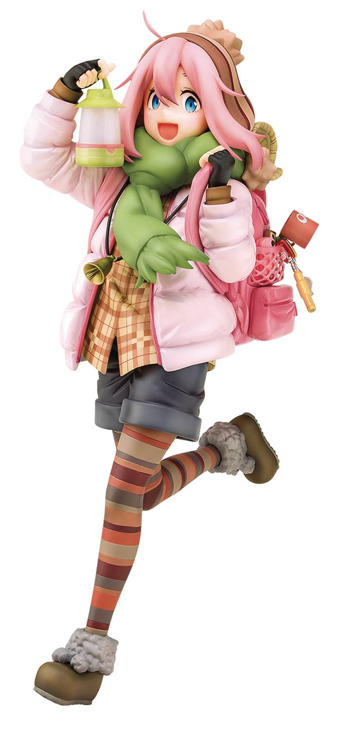 LAID BACK CAMP NADESHIKO KAGAMIHARA 1/7 PVC FIG
