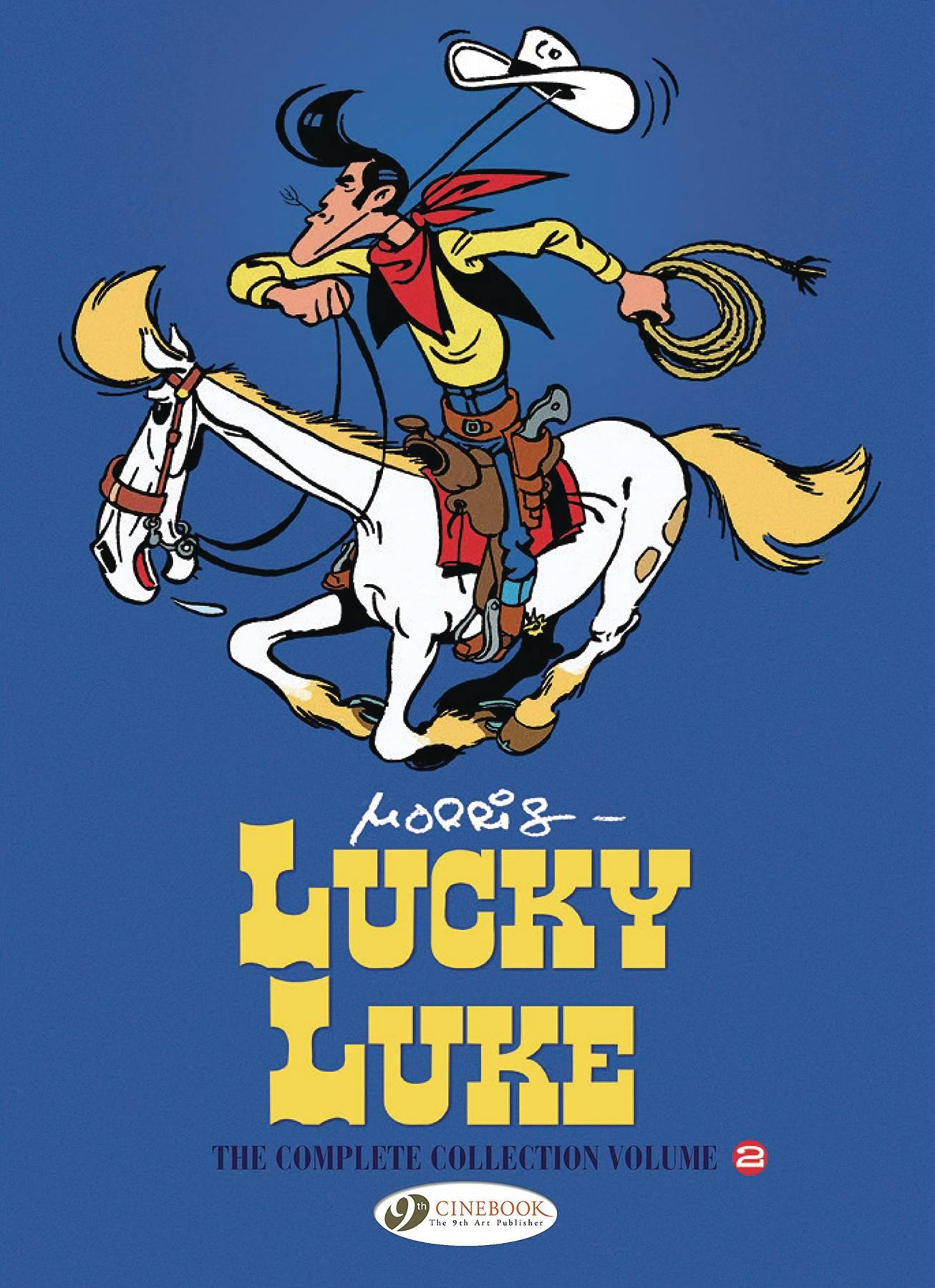LUCKY LUKE COMPLETE COLL HC VOL 02