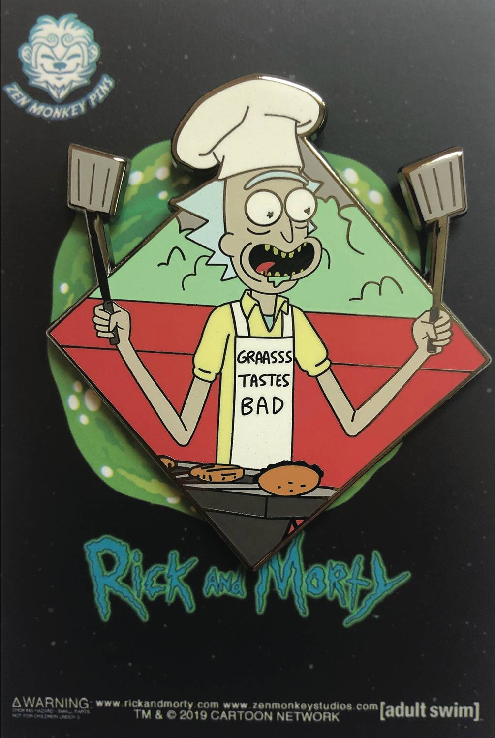 RICK AND MORTY FAMOUS MOMENTS THE BBQ PIN