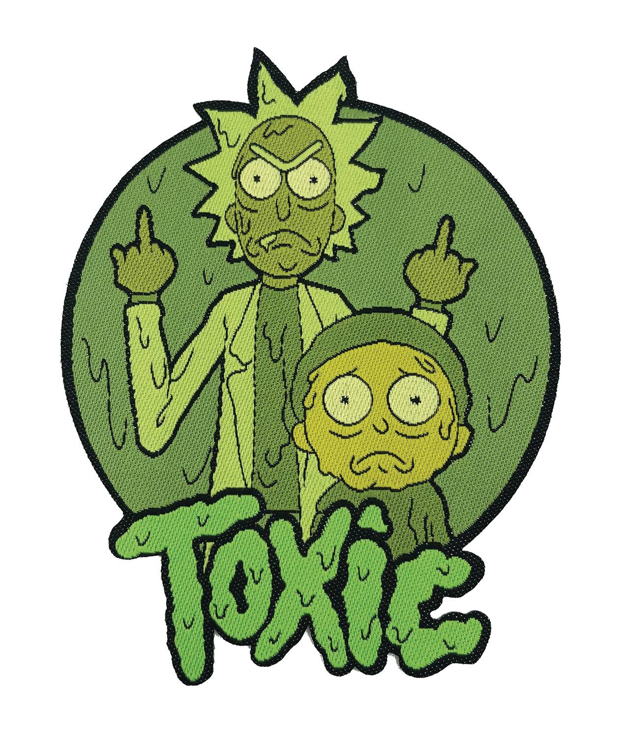 RICK AND MORTY TOXIC PATCH