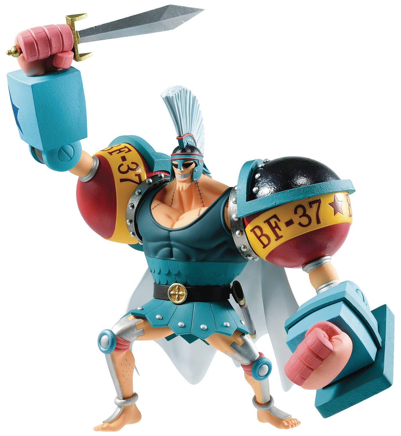 ONE PIECE STAMPEDE FRANKY ICHIBAN FIG