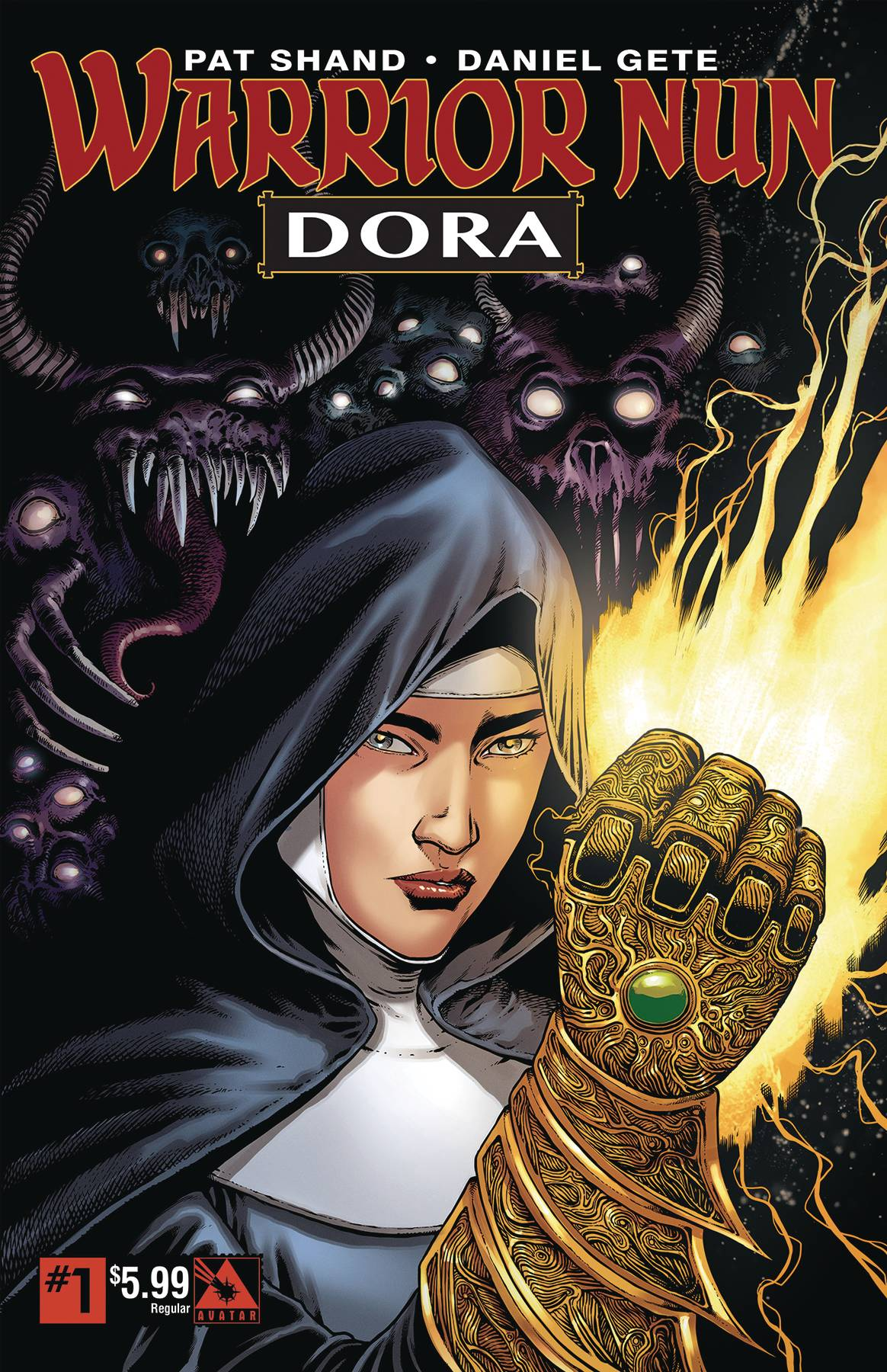 WARRIOR NUN DORA #1 REGULAR