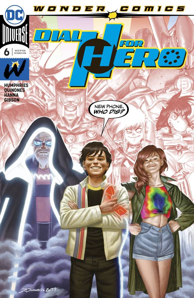 DIAL H FOR HERO #6 (OF 6)