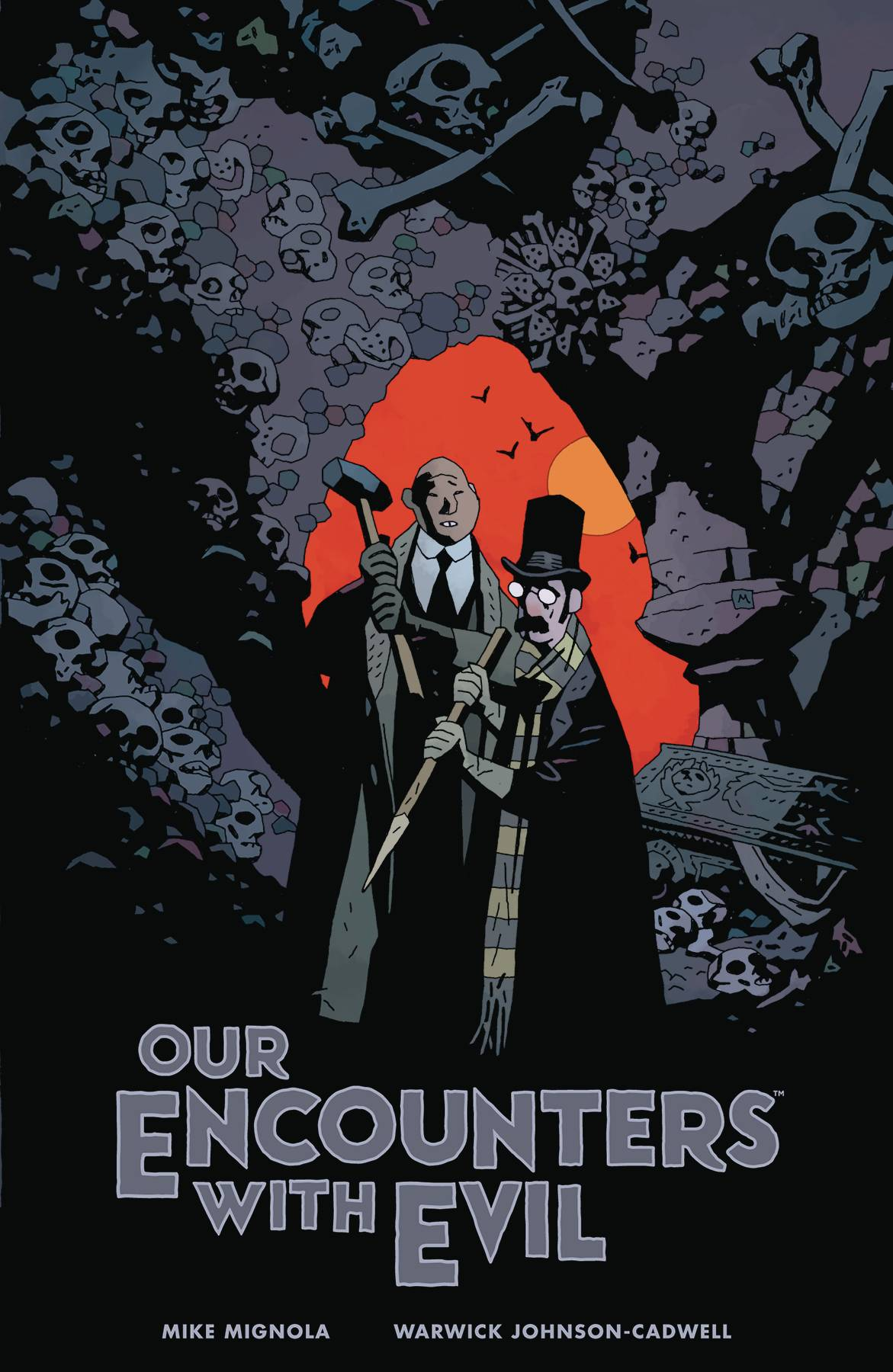 OUR ENCOUNTERS EVIL PROFESSOR MEINHARDT & KNOX HC (JUN190299