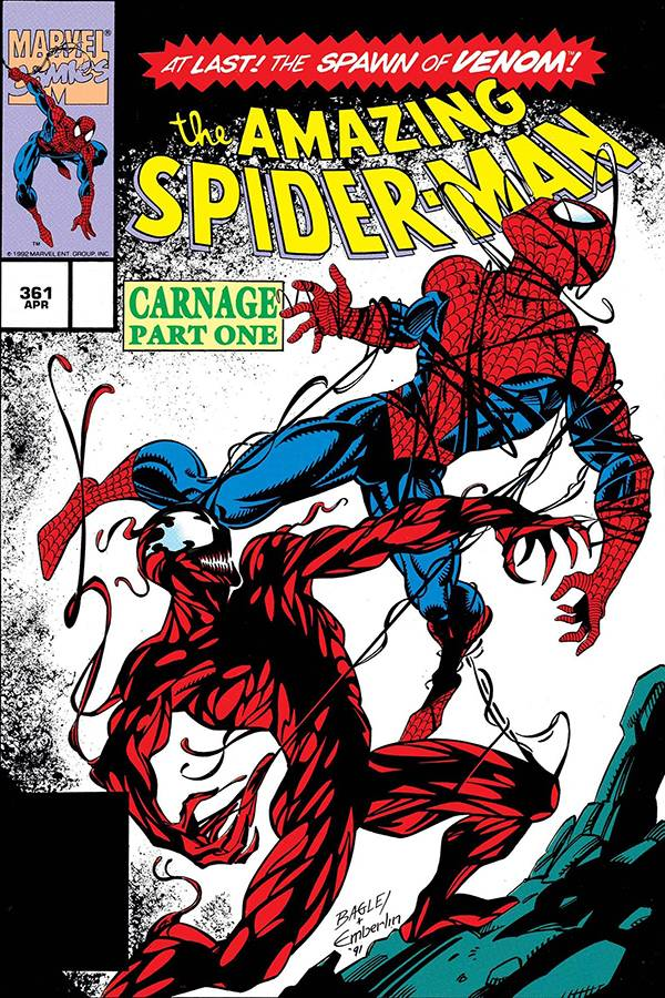 DF TRUE BELIEVERS ABSOLUTE CARNAGE #1 SILVER SGN BAGLEY