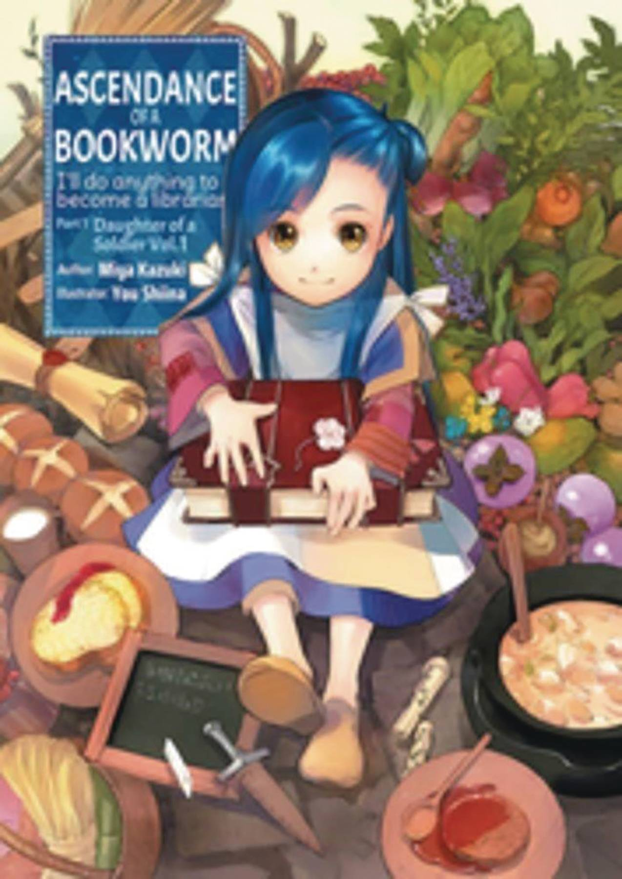 ASCENDANCE OF A BOOKWORM LIGHT NOVEL SC VOL 01 PART 1