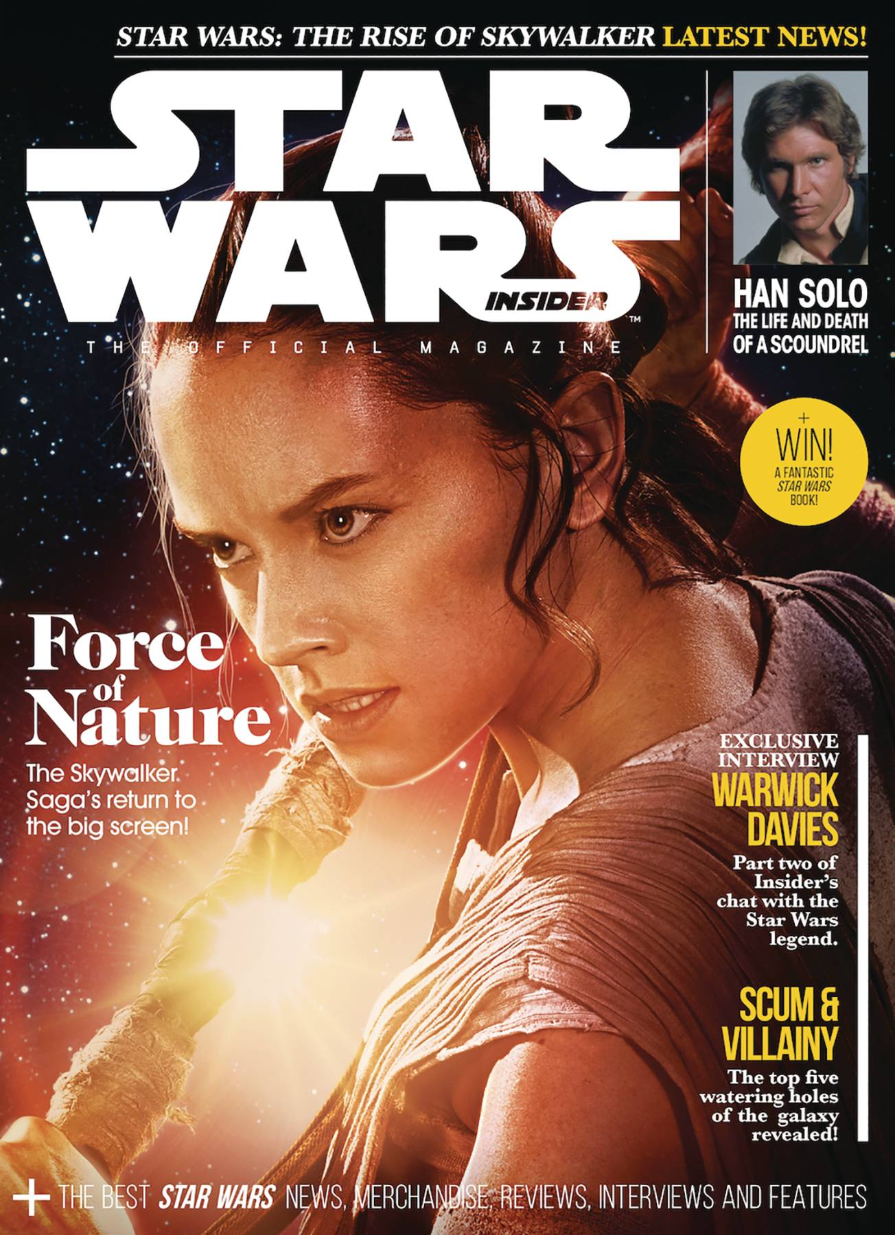 STAR WARS INSIDER #192 NEWSSTAND ED