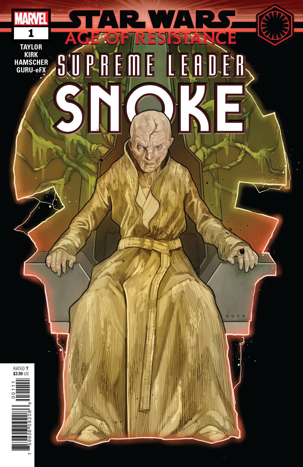 STAR WARS AOR SUPREME LEADER SNOKE #1