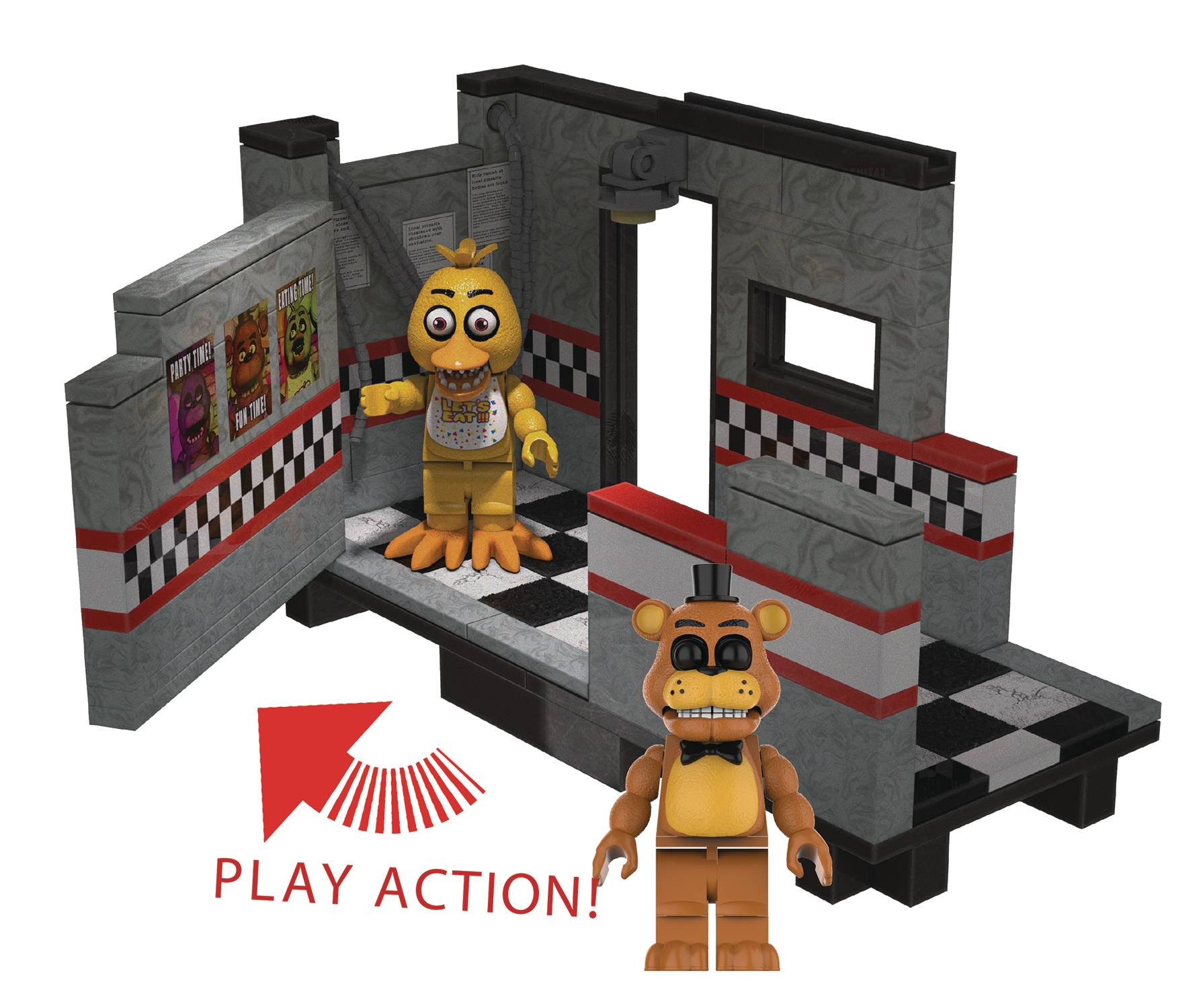 FIVE NIGHTS AT FREDDYS EAST HALL CONST SET CS