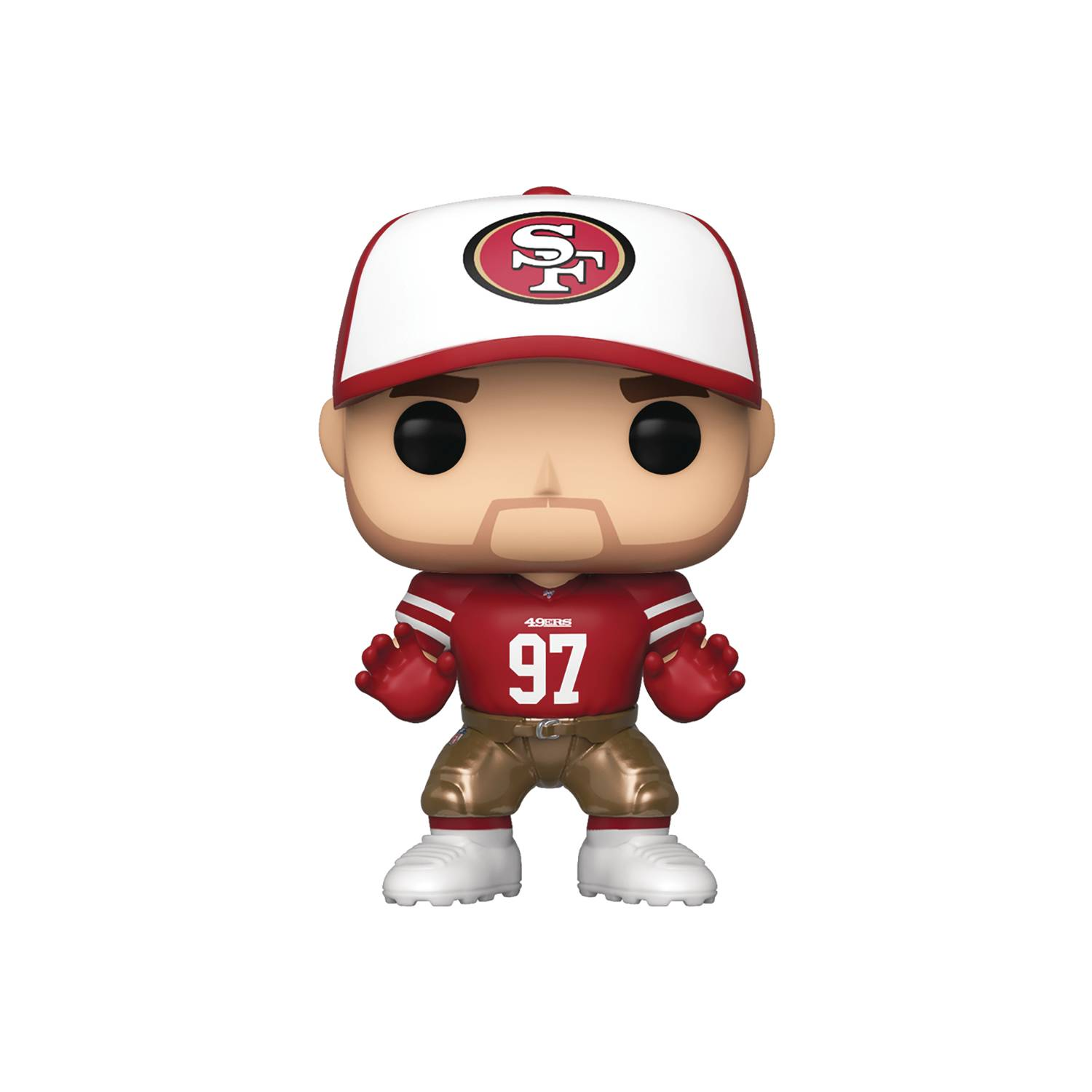 POP NFL 49ERS NICK BOSA HOME JERSEY VINYL FIGURE