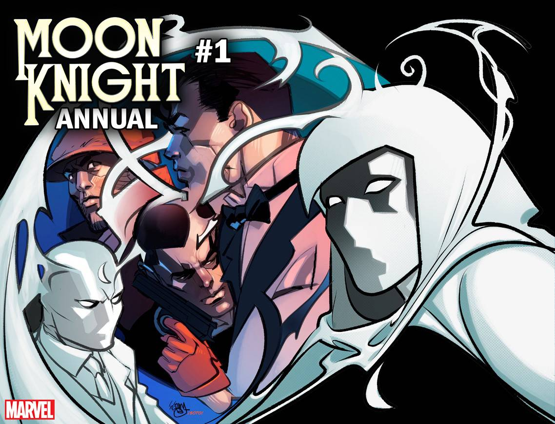 MOON KNIGHT ANNUAL #1 FERRY IMMORTAL WRAPAROUND VAR
