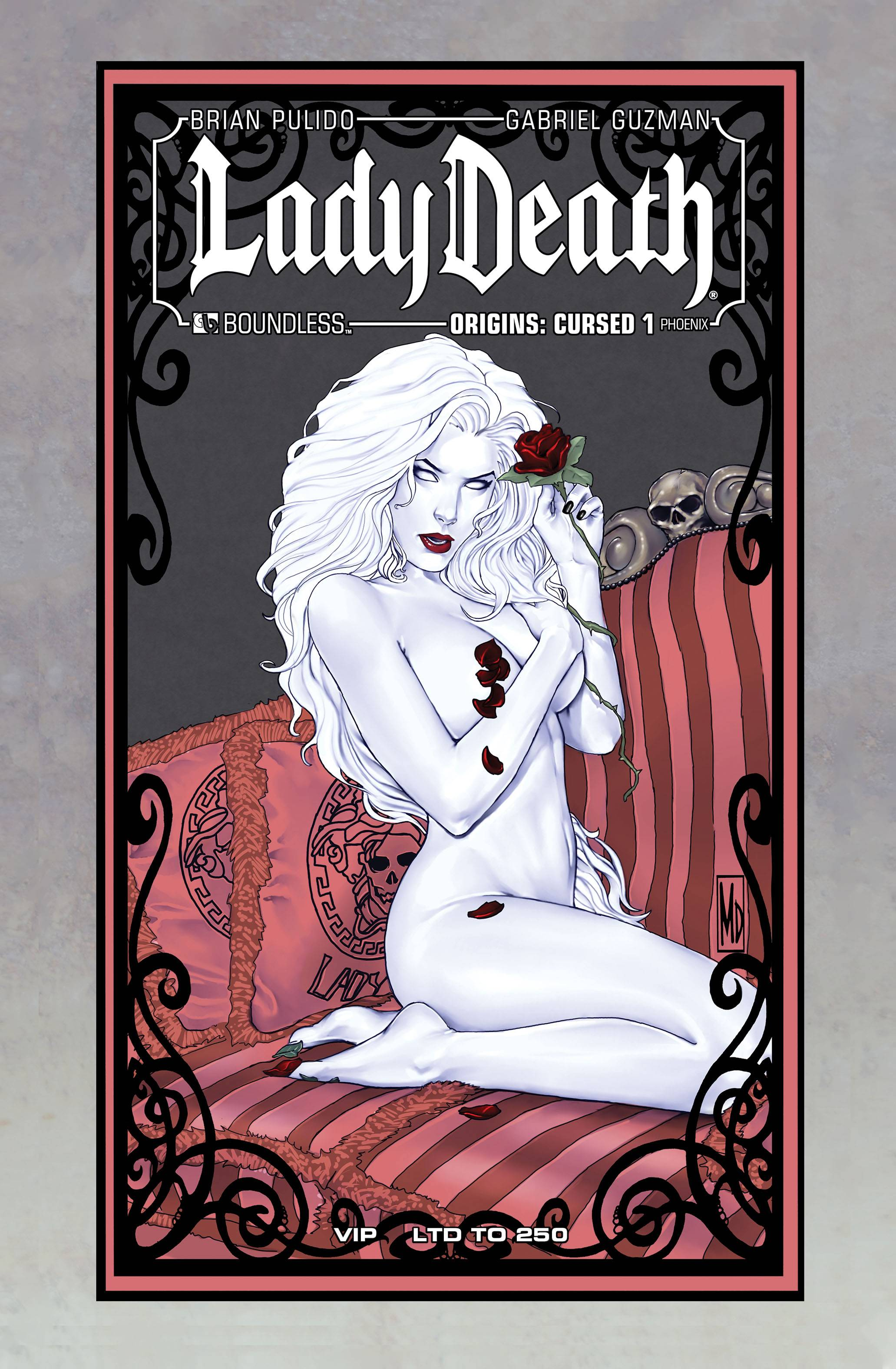 LADY DEATH ORIGINS CURSED #1 (OF 3) PHOENIX VIP (MR)
