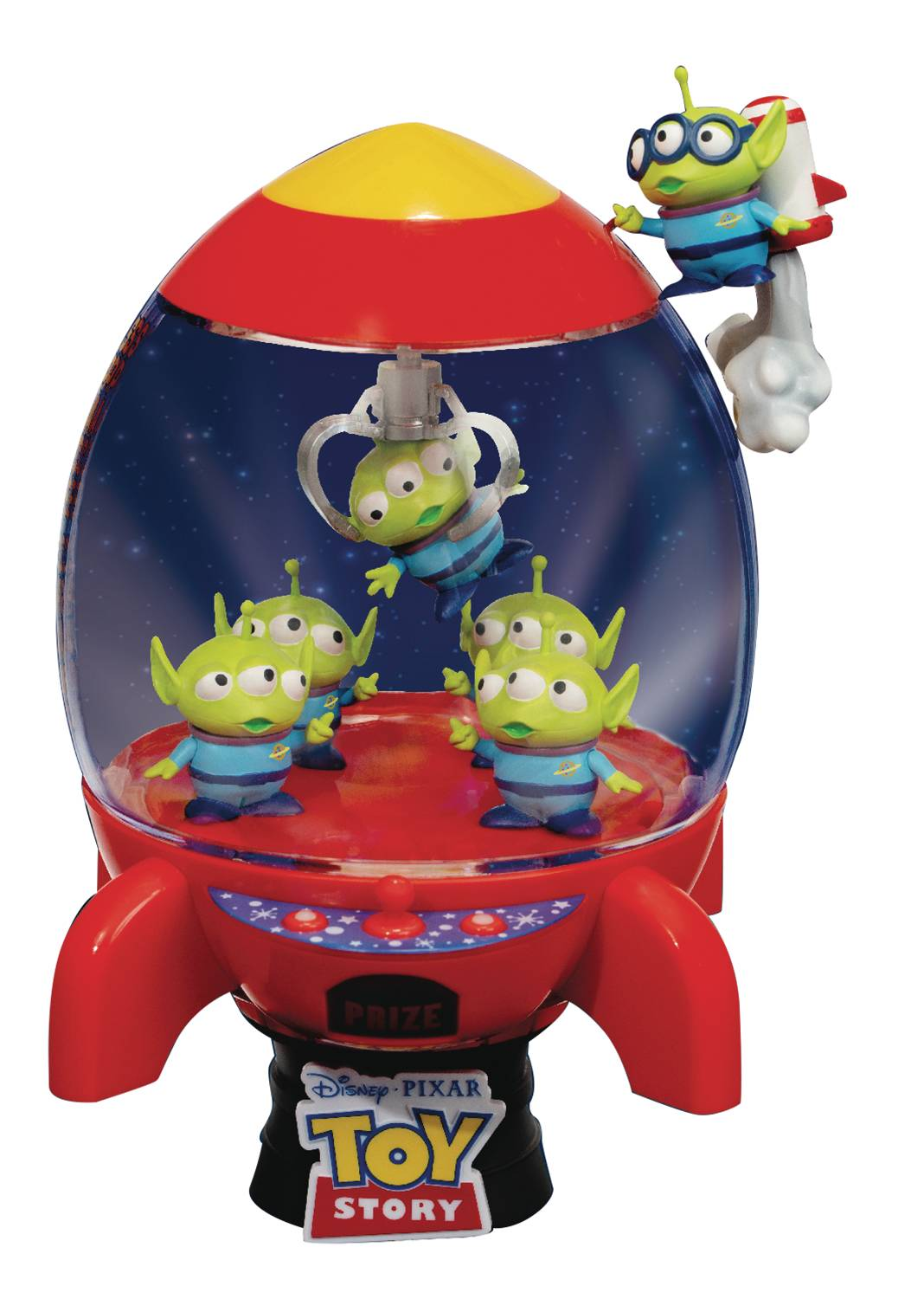 TOY STORY DS-031 ALIENS ROCKET D-STAGE SERIES DLX PX STATUE