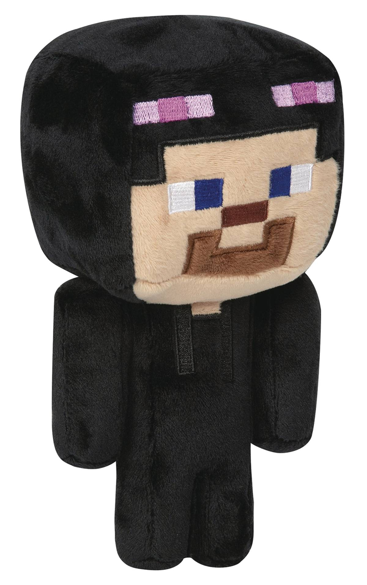 MINECRAFT STEVE IN ENDERMAN COSTUME 7IN PLUSH