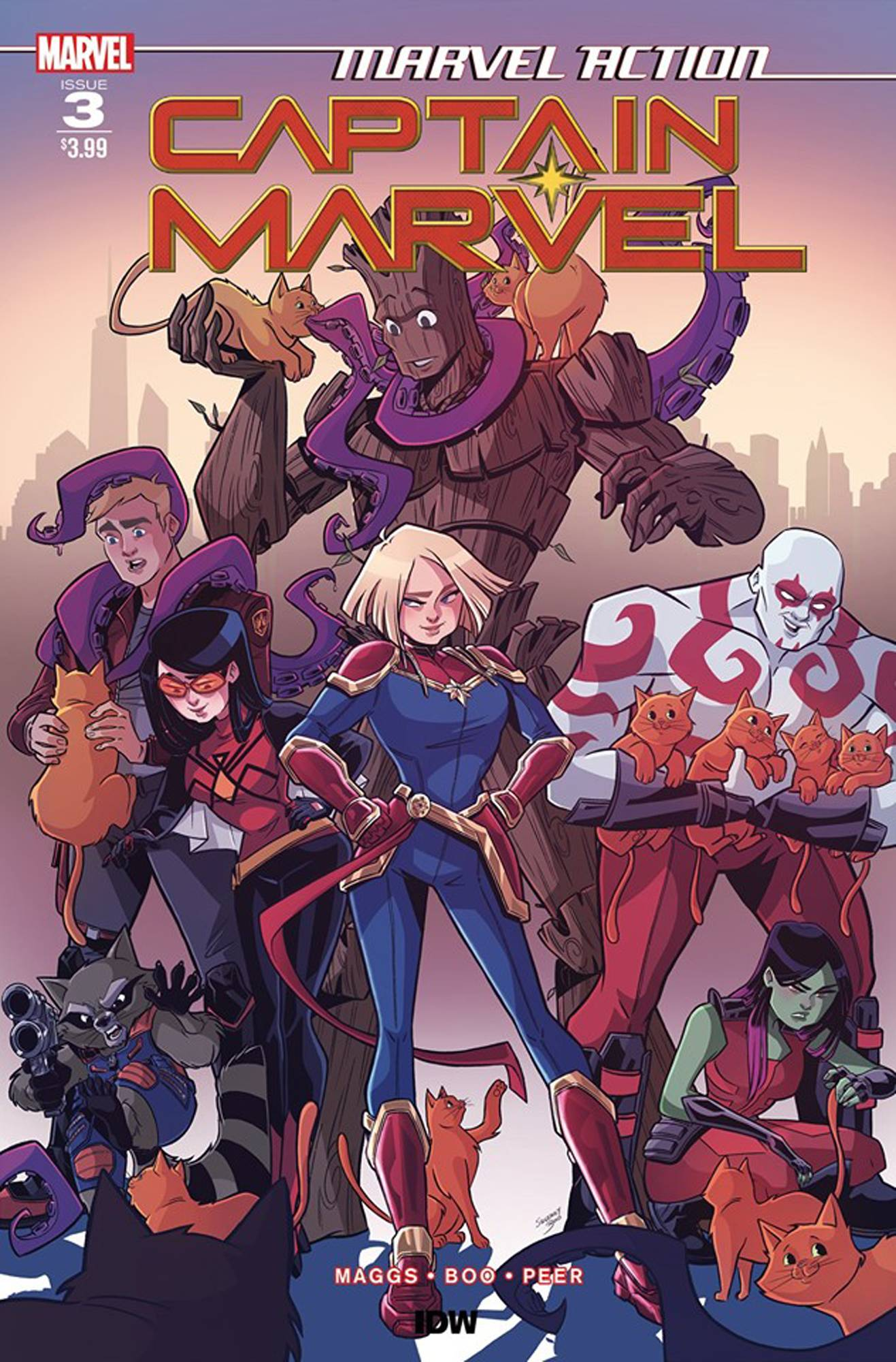 MARVEL ACTION CAPTAIN MARVEL #3 (OF 3) CVR A BOO