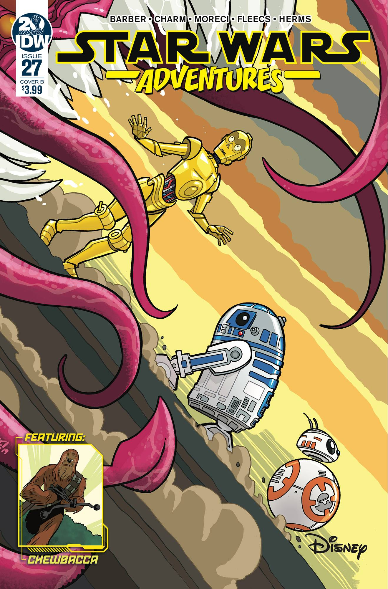 STAR WARS ADVENTURES #27 CVR B FLEECS