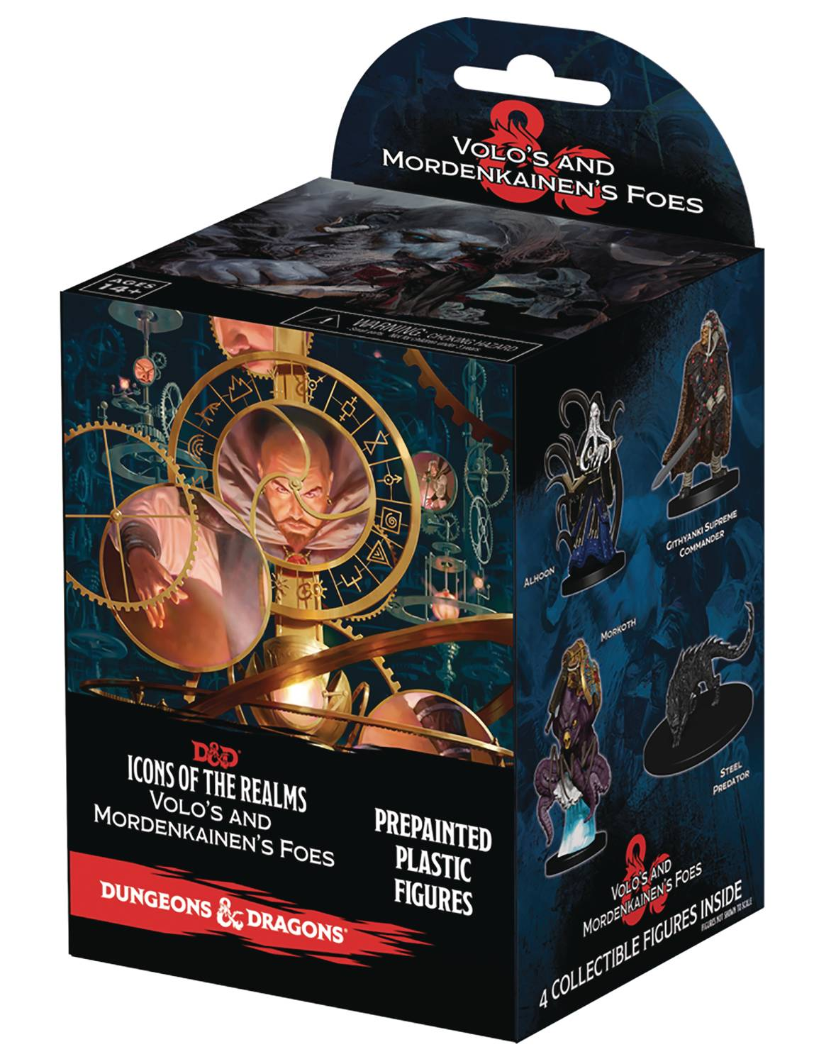 D&D ICONS REALM VOLO & MORDENKAINEN 8CT BOOSTER BRICK
