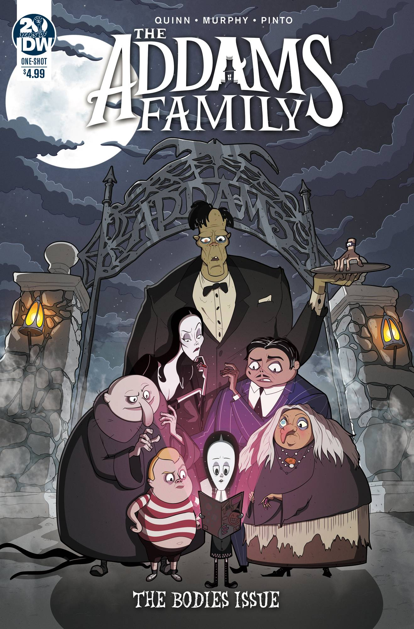 ADDAMS FAMILY THE BODIES CVR A MURPHY