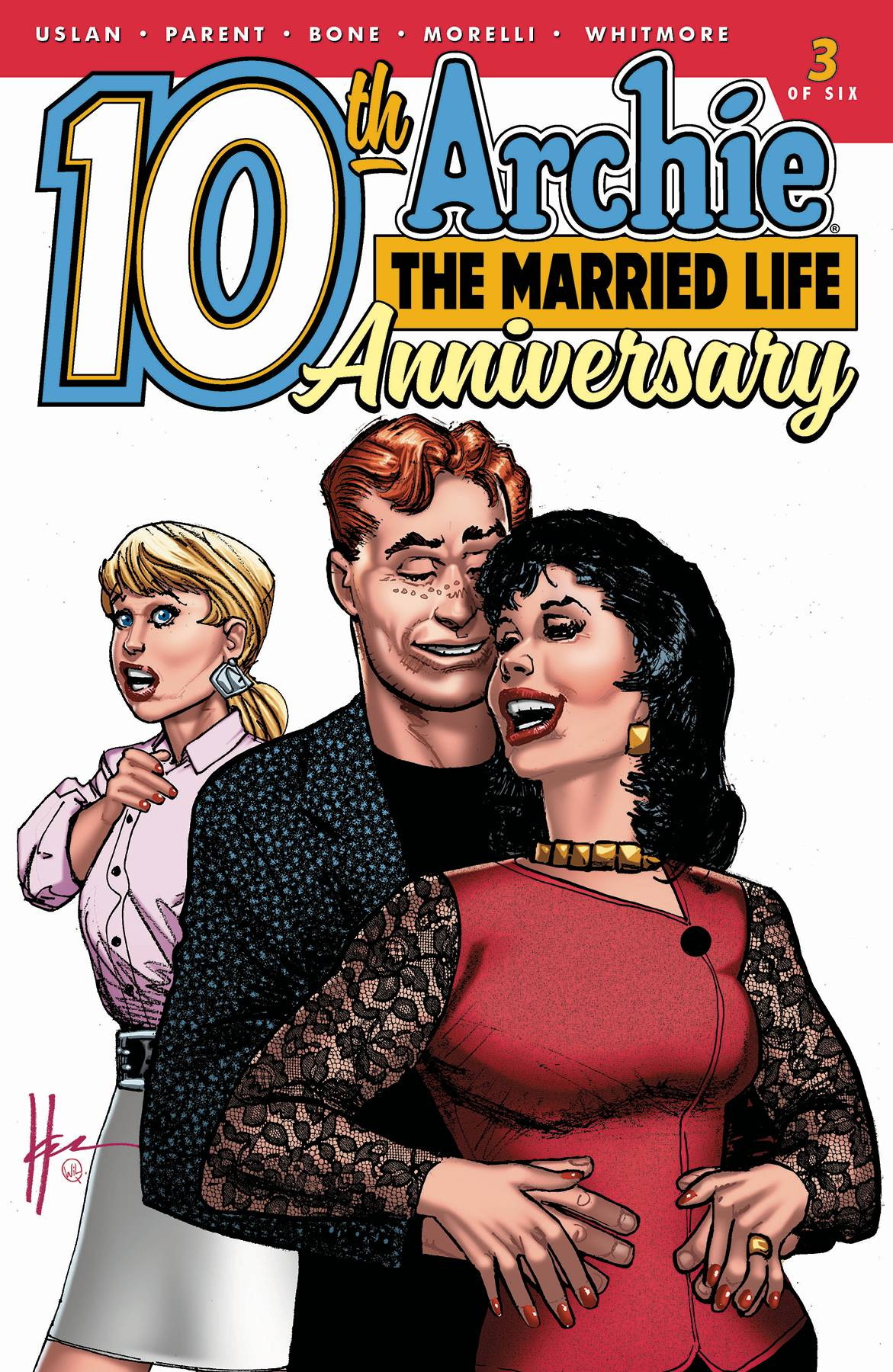 ARCHIE MARRIED LIFE 10 YEARS LATER #3 CVR B CHAYKIN