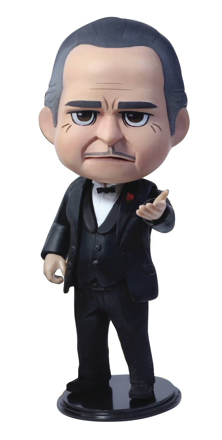 THE GODFATHER QBITZ VITO CORLEONE LIMITED ARTICULATION FIG (