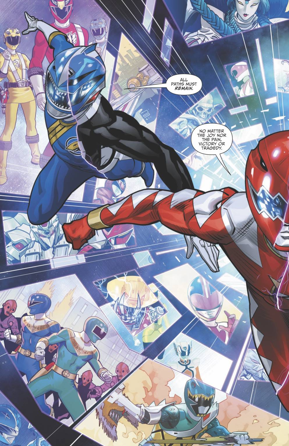 MIGHTY MORPHIN POWER RANGERS #41 FOC MORA VAR