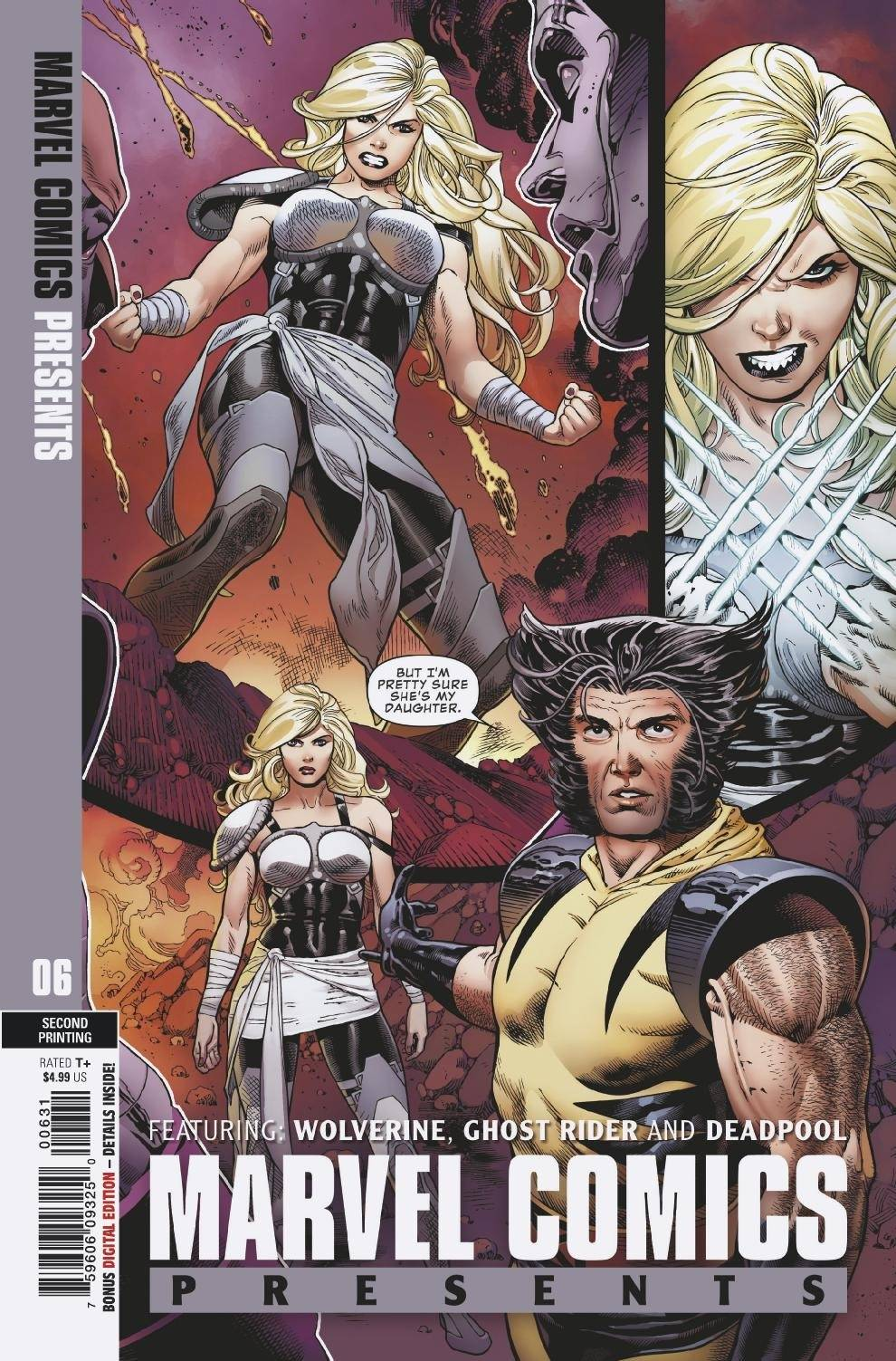 MARVEL COMICS PRESENTS #6 2ND PTG SIQUEIRA DAUGHTER RATIO VA