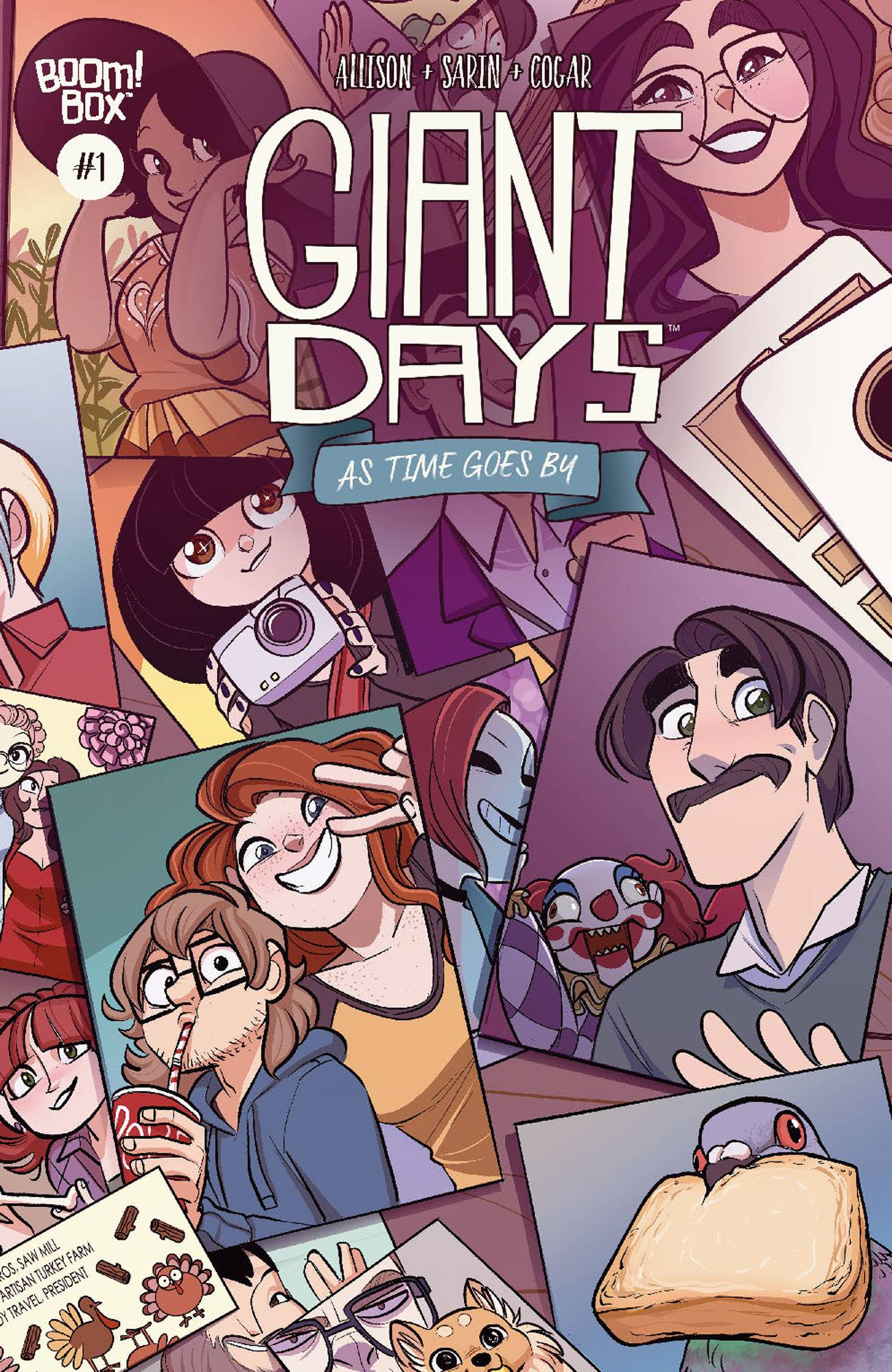 GIANT DAYS AS TIME GOES BY #1 CVR B SARIN