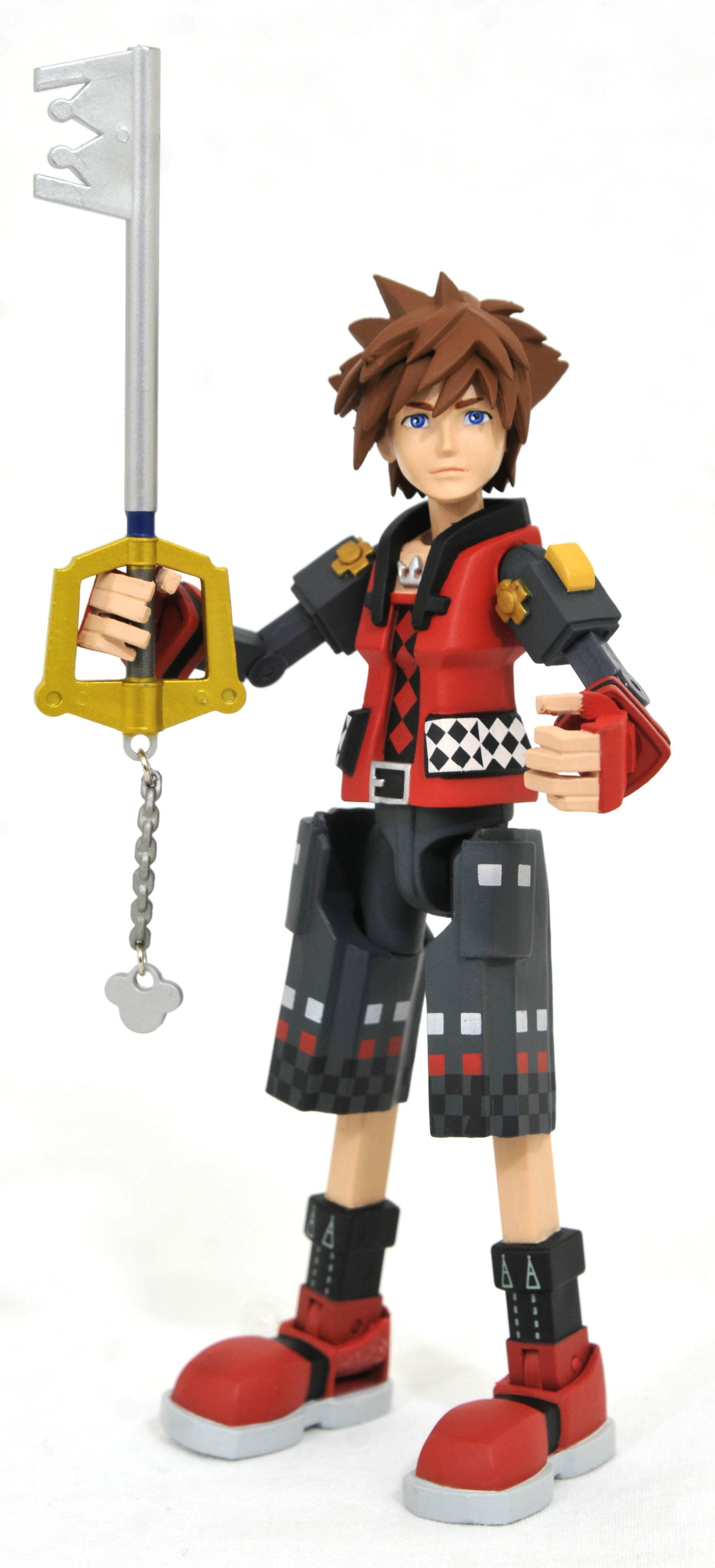 KINGDOM HEARTS 3 VALOR FORM TOY STORY SORA FIGURE