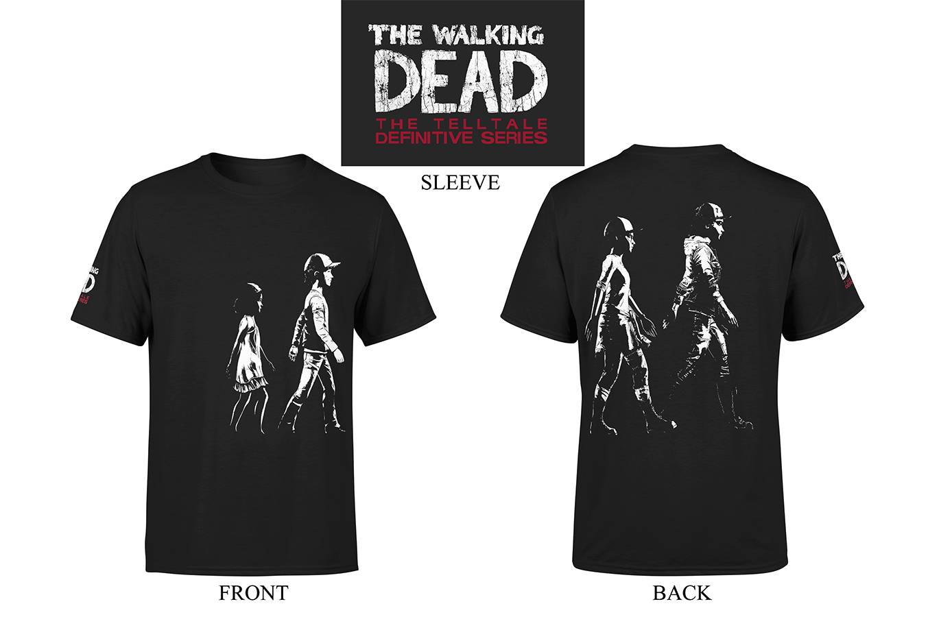 TELLTALE WALKING DEAD AGE OF CLEMENTINE T/S LG
