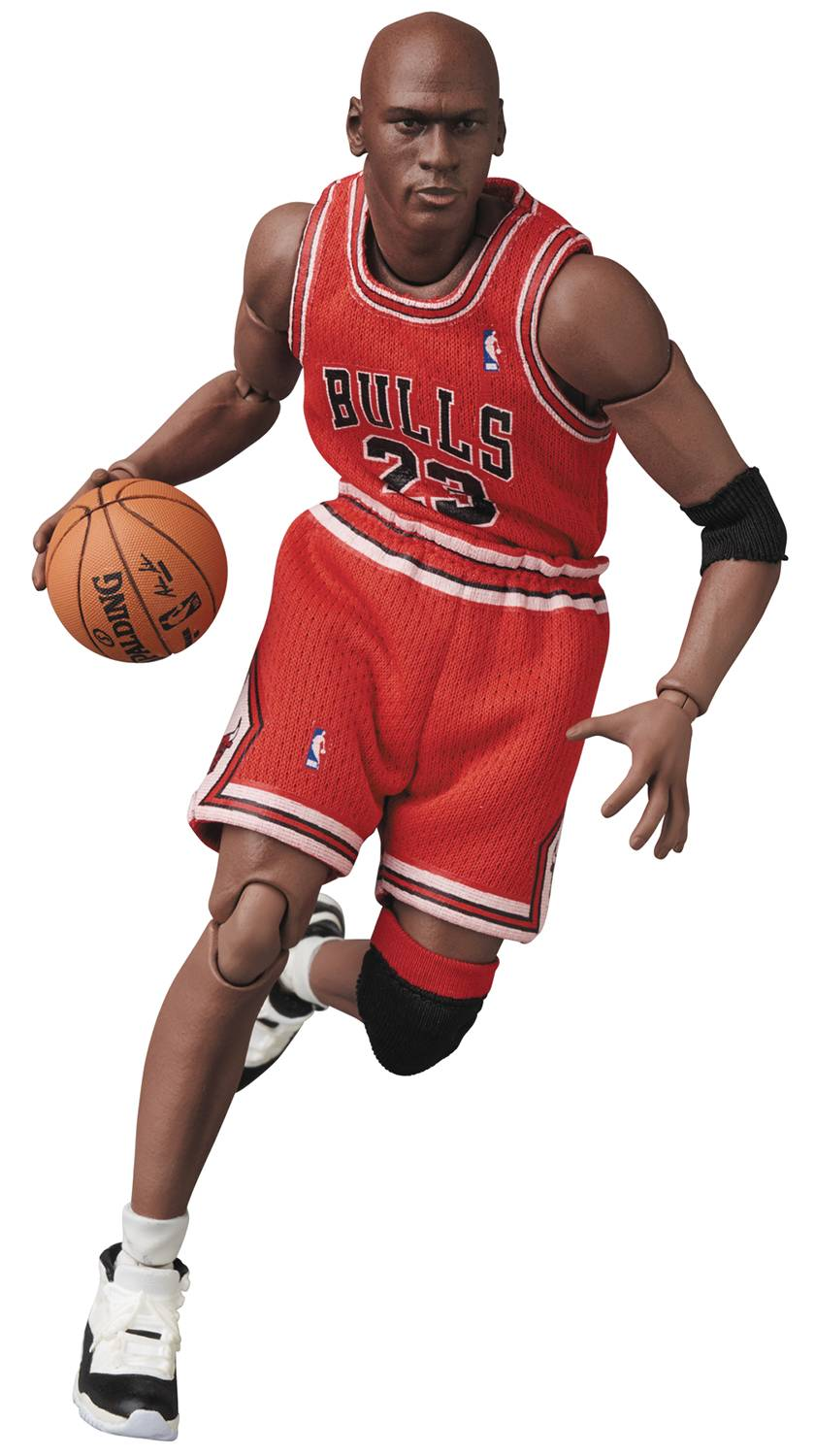 MICHAEL JORDAN CHICAGO BULLS UNIFORM MAFEX AF