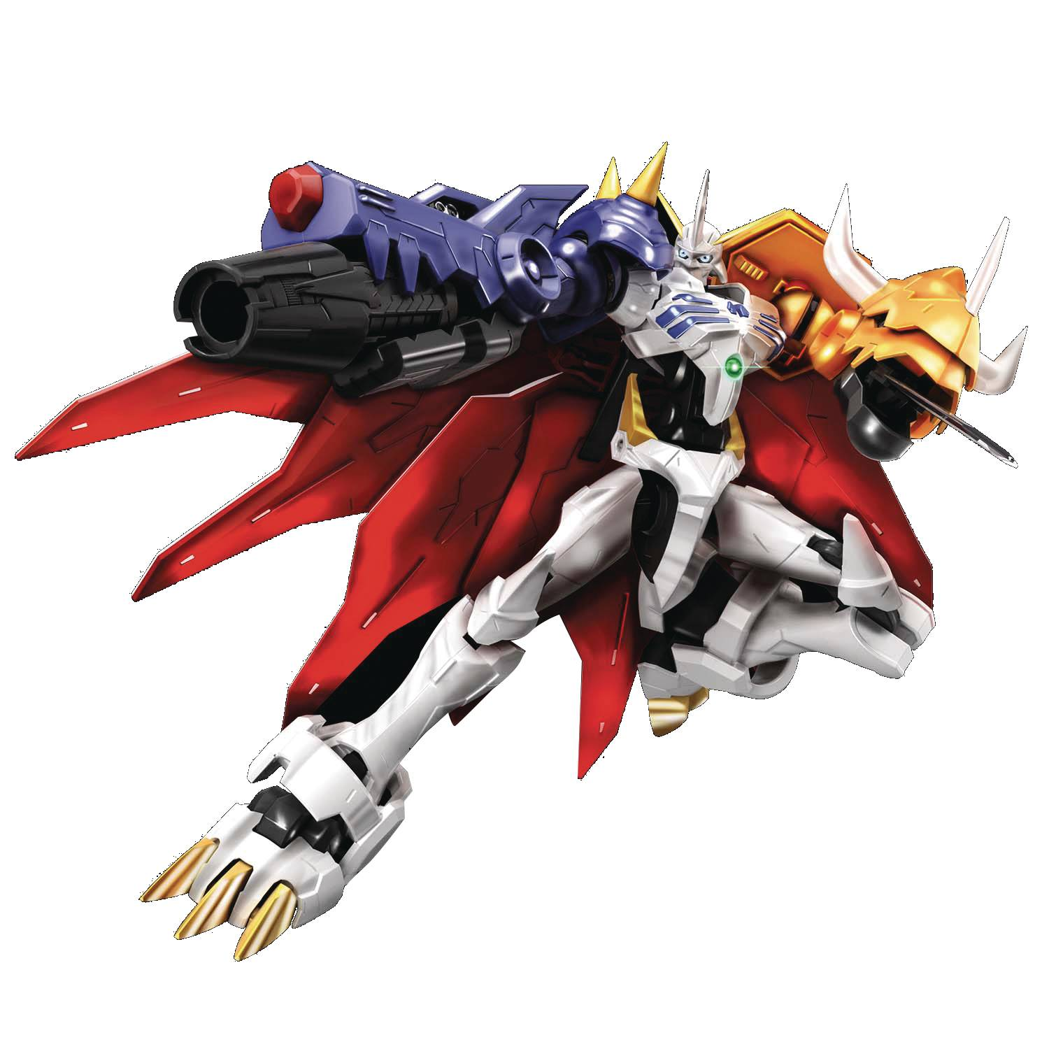 DIGIMON AMPLIFIED OMEGAMON FIG-RISE STD MDL KIT