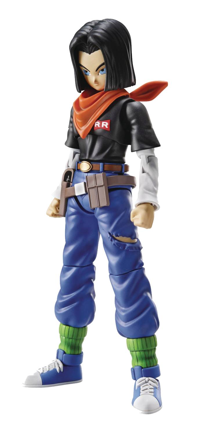 DRAGON BALL ANDROID 17 FIGURE-RISE MDL KIT NEW PKG VER
