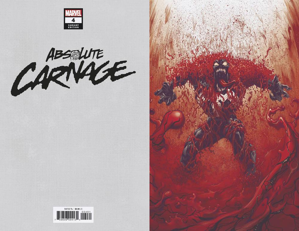 2019 OF 5 2ND PRINTING STEGMAN VARIANT COVER ABSOLUTE CARNAGE #4 $4.99