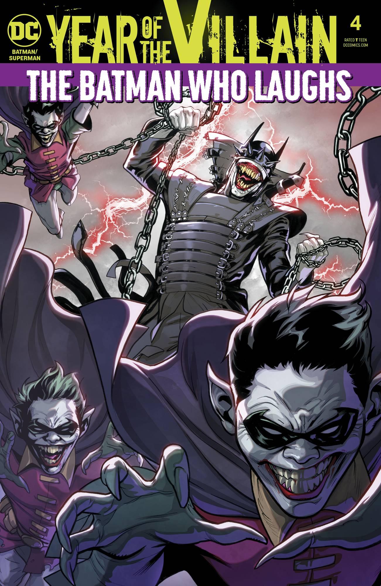 AUG190603 - BATMAN SUPERMAN #4 YOTV ACETATE - Previews World