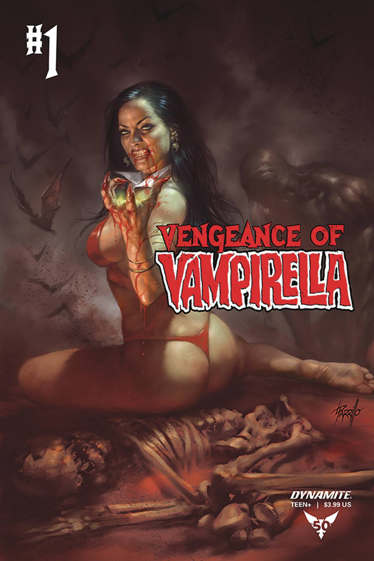 VENGEANCE OF VAMPIRELLA #1 CVR D PARRILLO