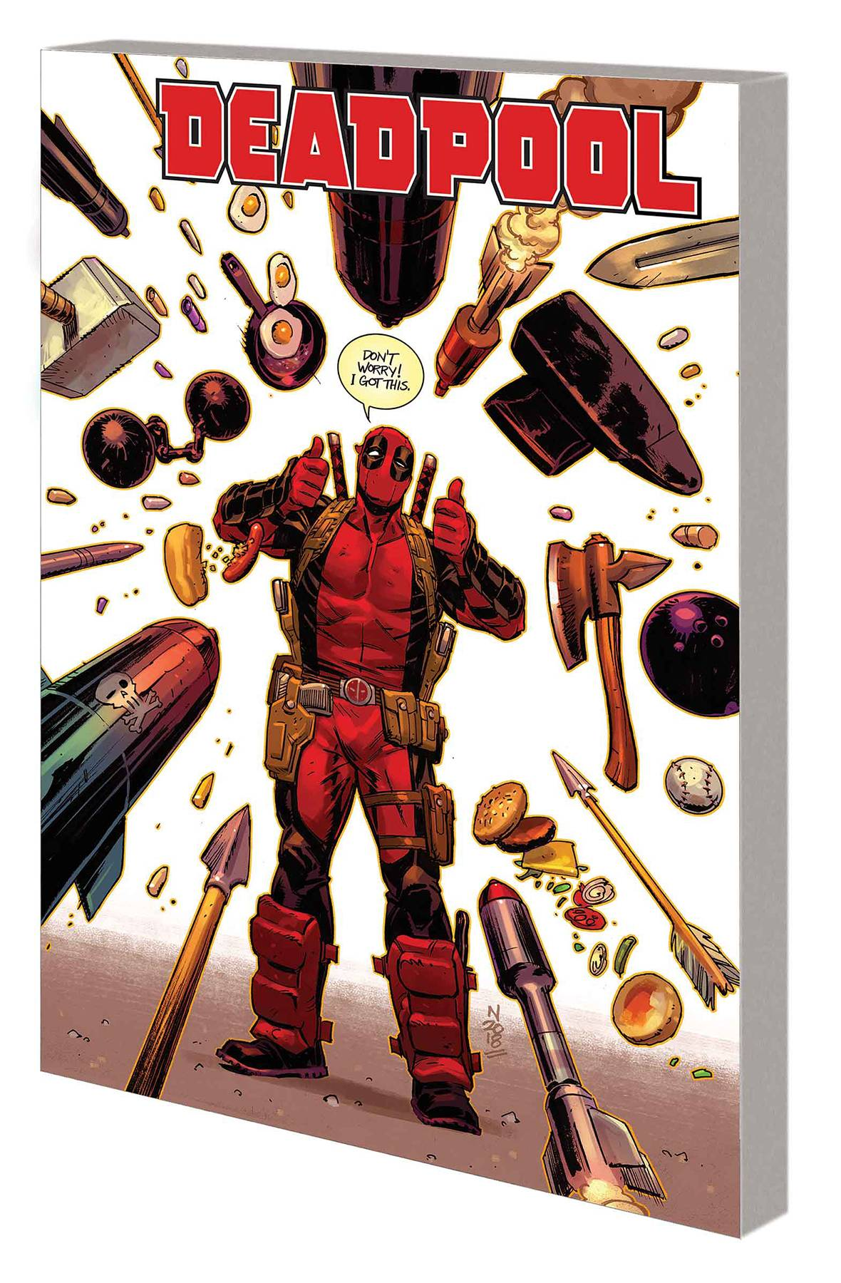 DEADPOOL BY SKOTTIE YOUNG TP VOL 03 WEASEL GOES TO HELL