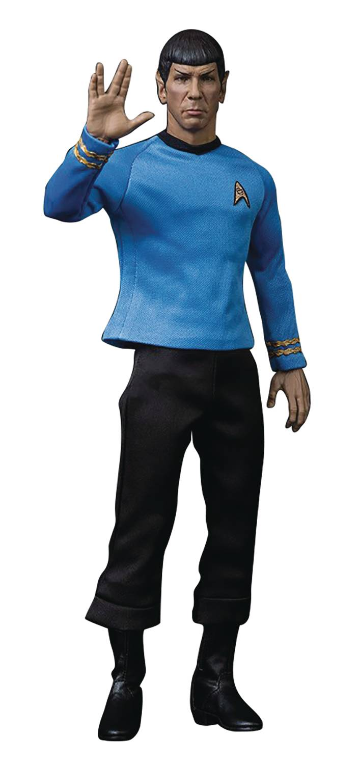 STAR TREK MASTER SERIES MR SPOCK REISSUE 1/6 SCALE AF