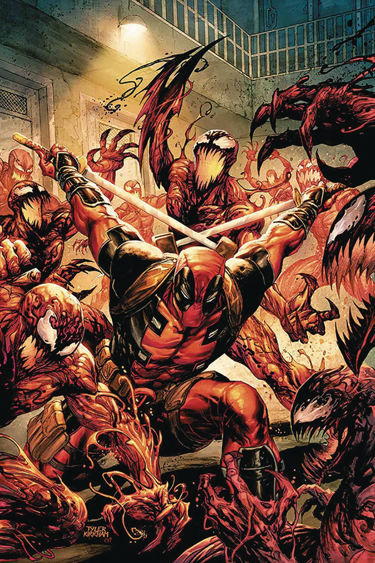 DF ABSOLUTE CARNAGE VS DEADPOOL #1 SGN TIERI